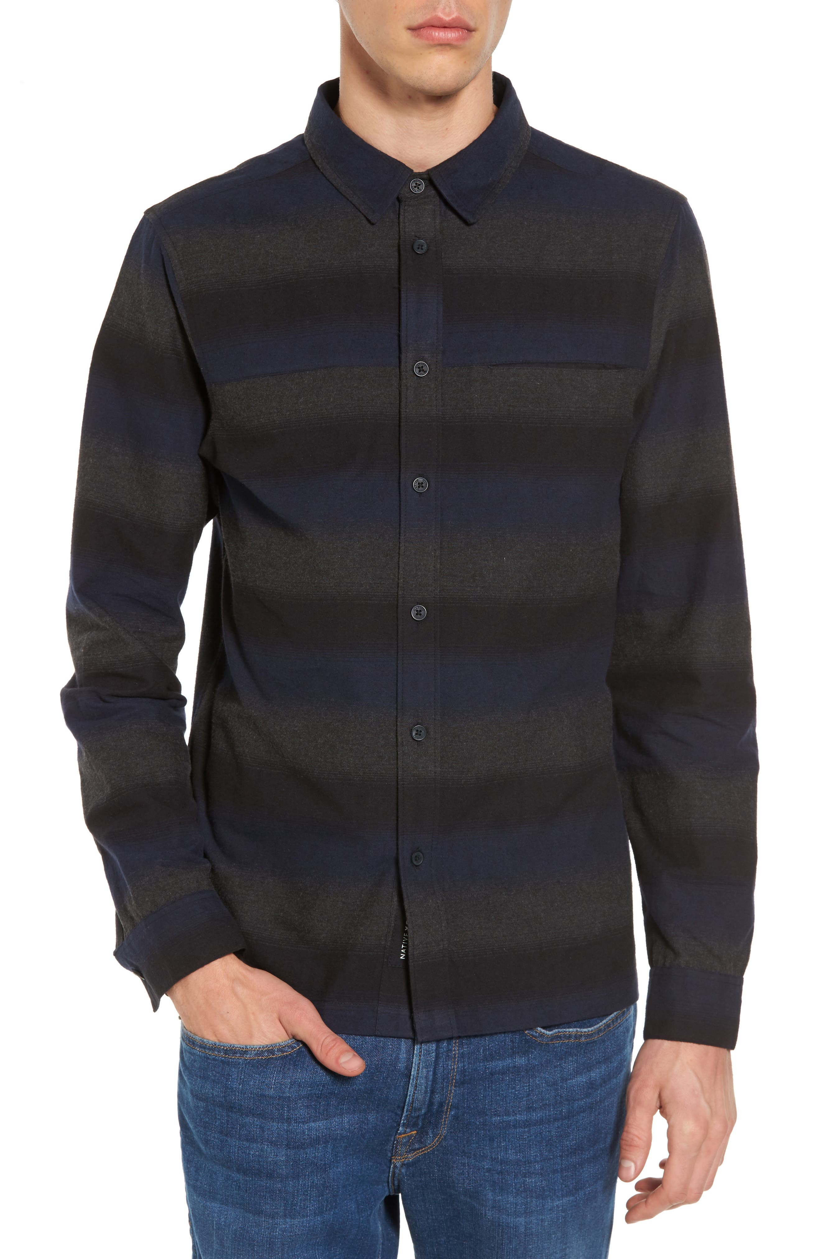 Alternate Image 1 Selected - Native Youth Myton Sport Shirt