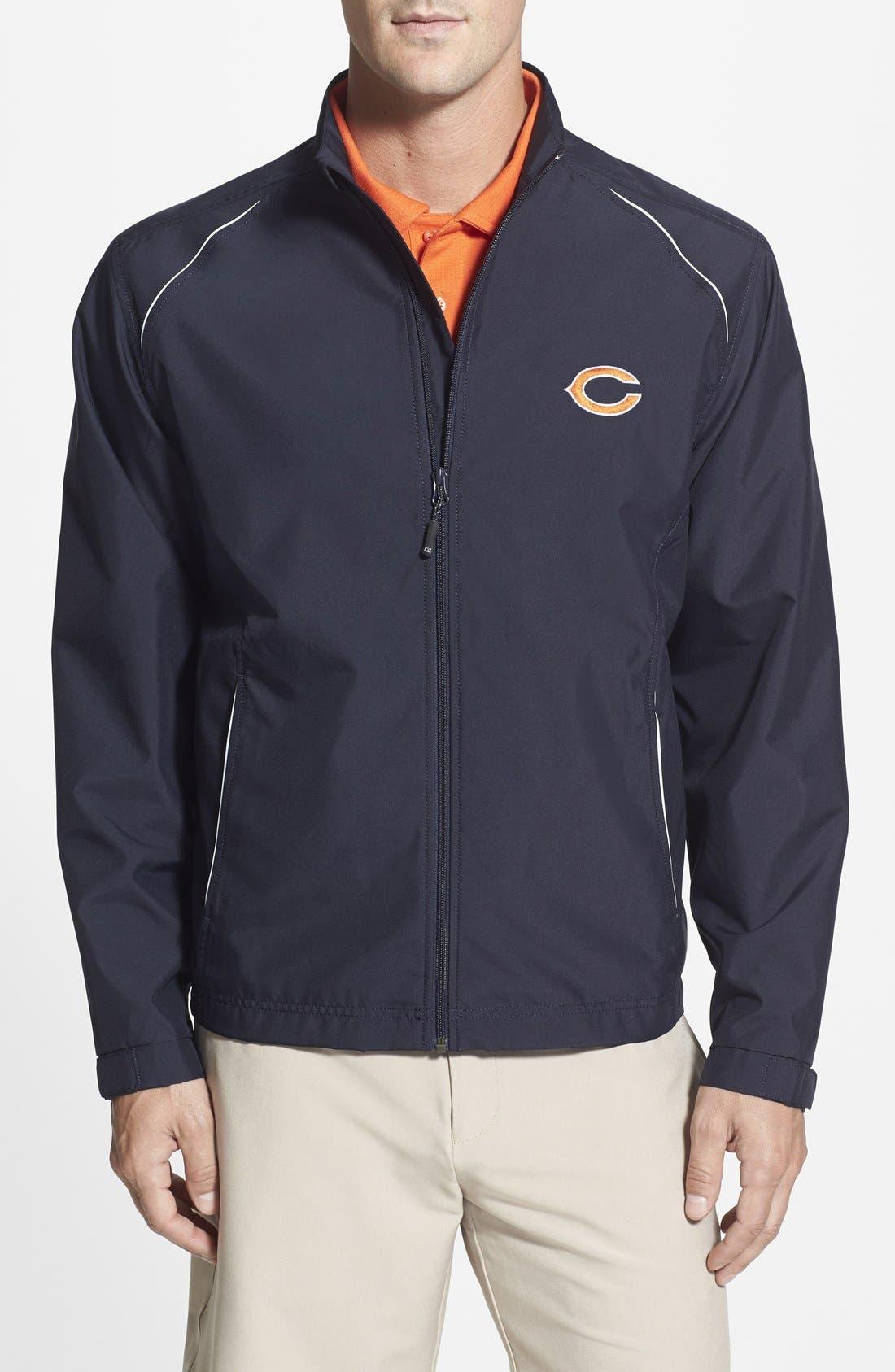 Cutter & Buck Chicago Bears - Beacon WeatherTec Wind & Water Resistant Jacket