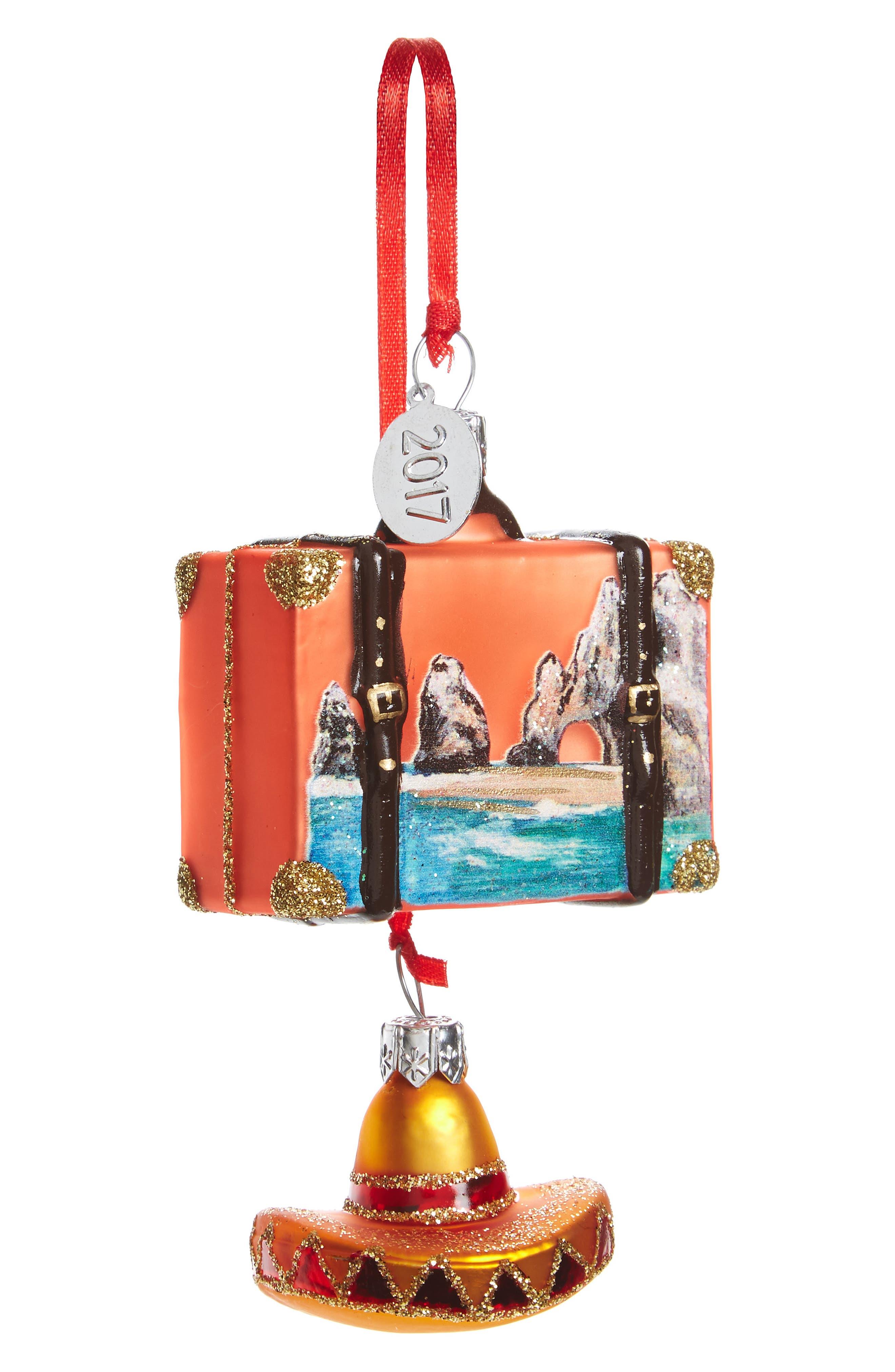 Nordstrom at Home 'Travel' Mini Ornament