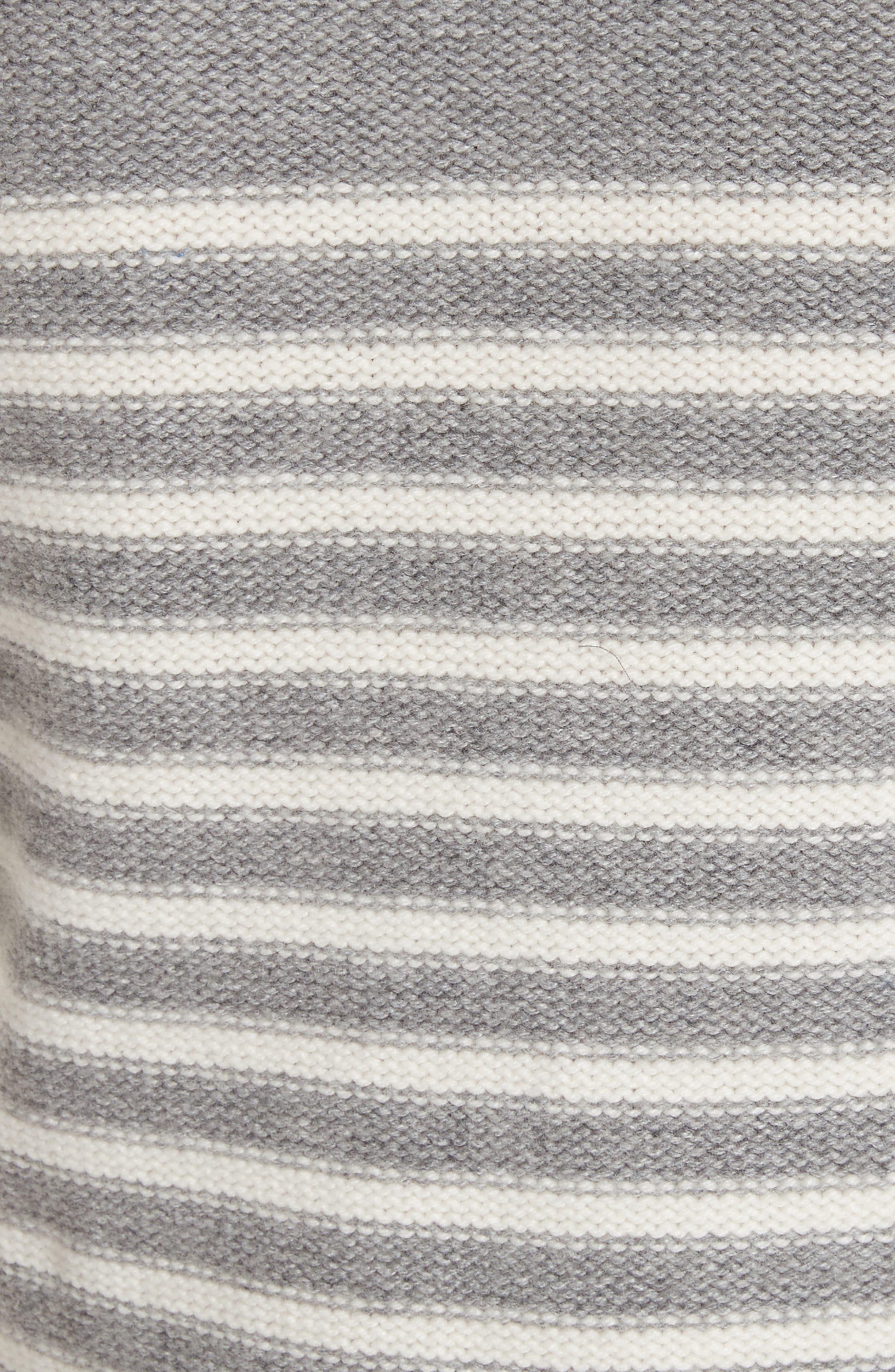 Alternate Image 5  - kate spade new york stripe peplum sweater