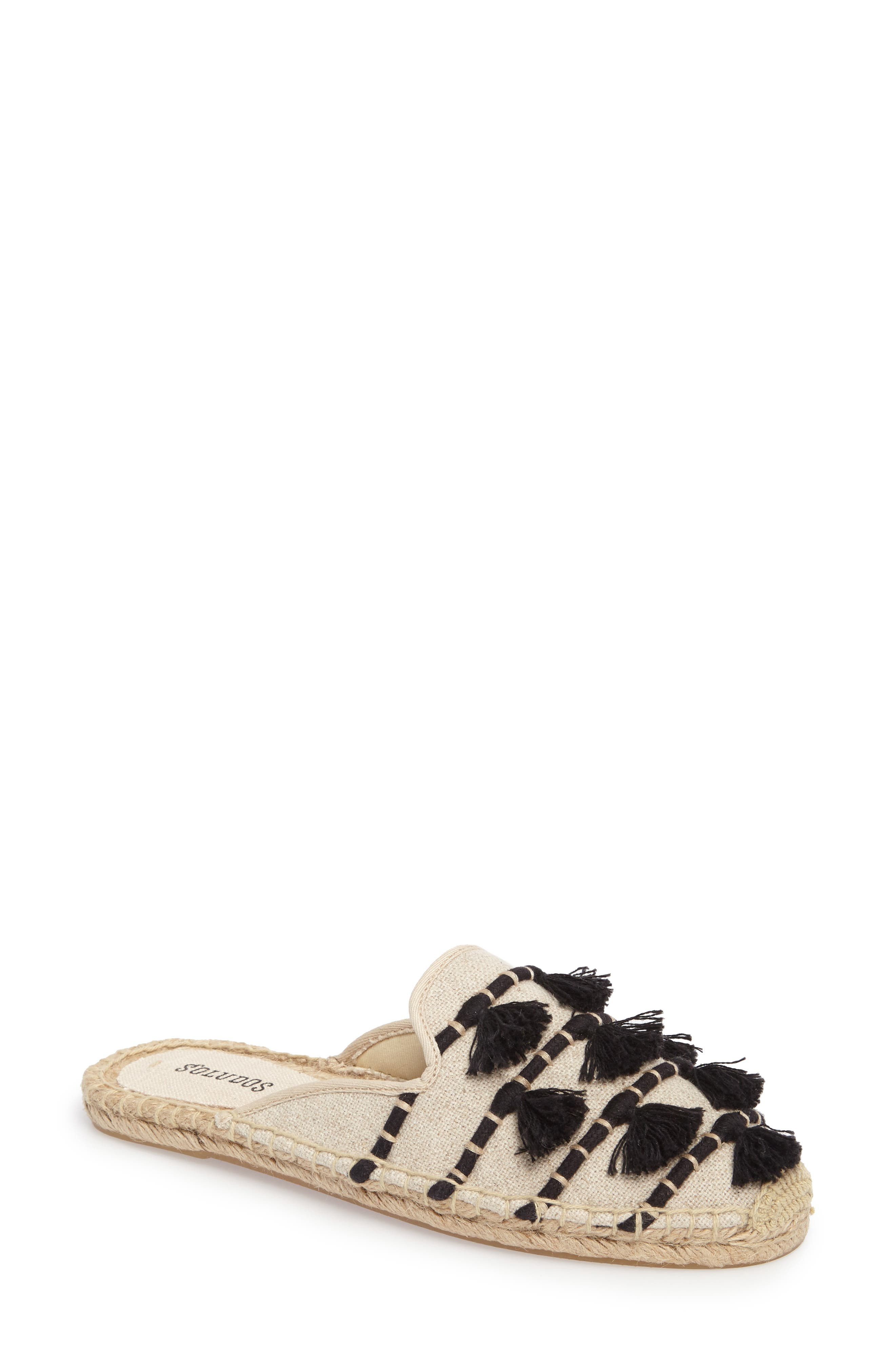 Alternate Image 1 Selected - Soludos Tassel Espadrille Mule (Women)
