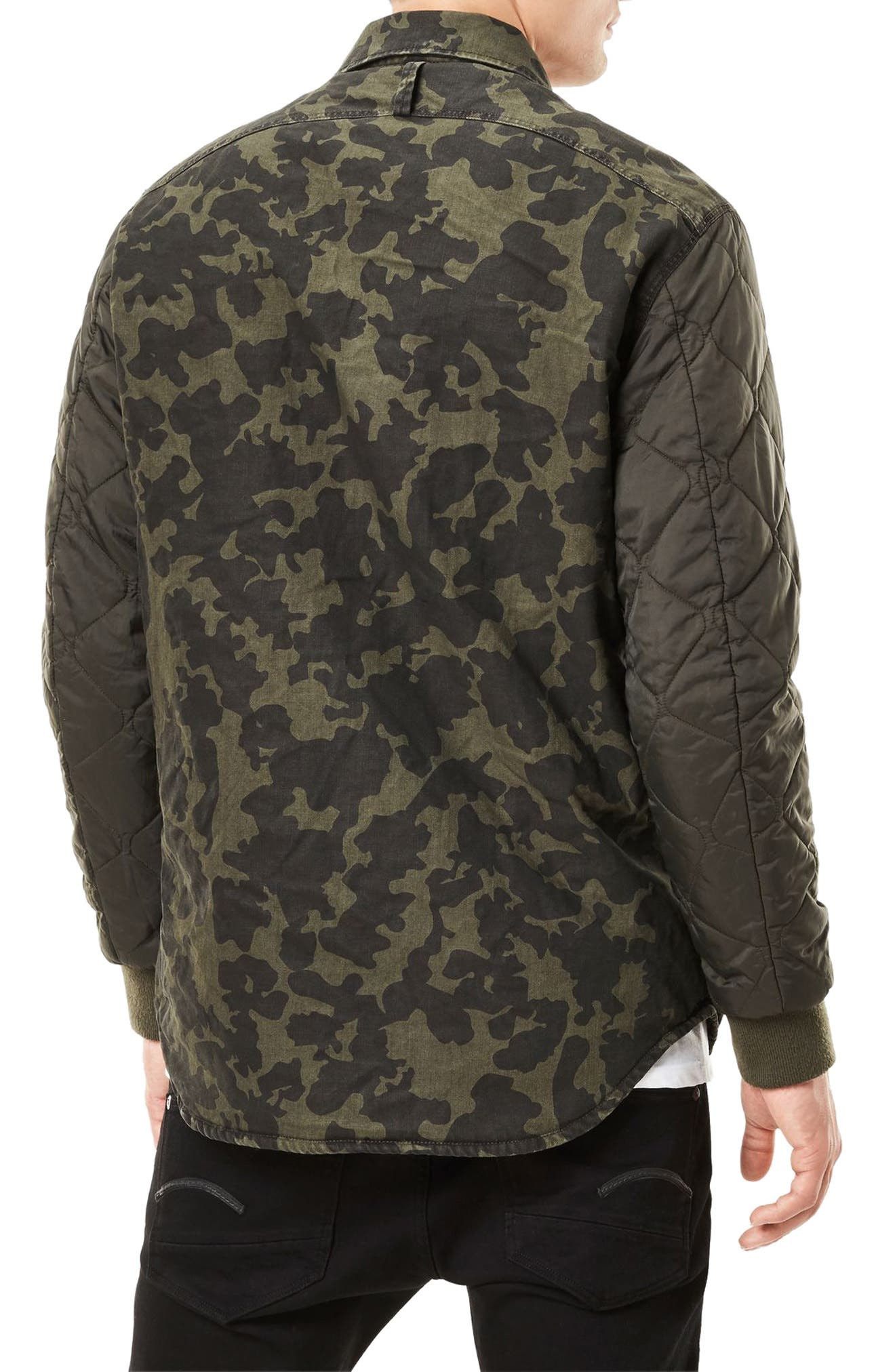 Alternate Image 2  - G-Star Raw Type C Hybrid Padded Overshirt