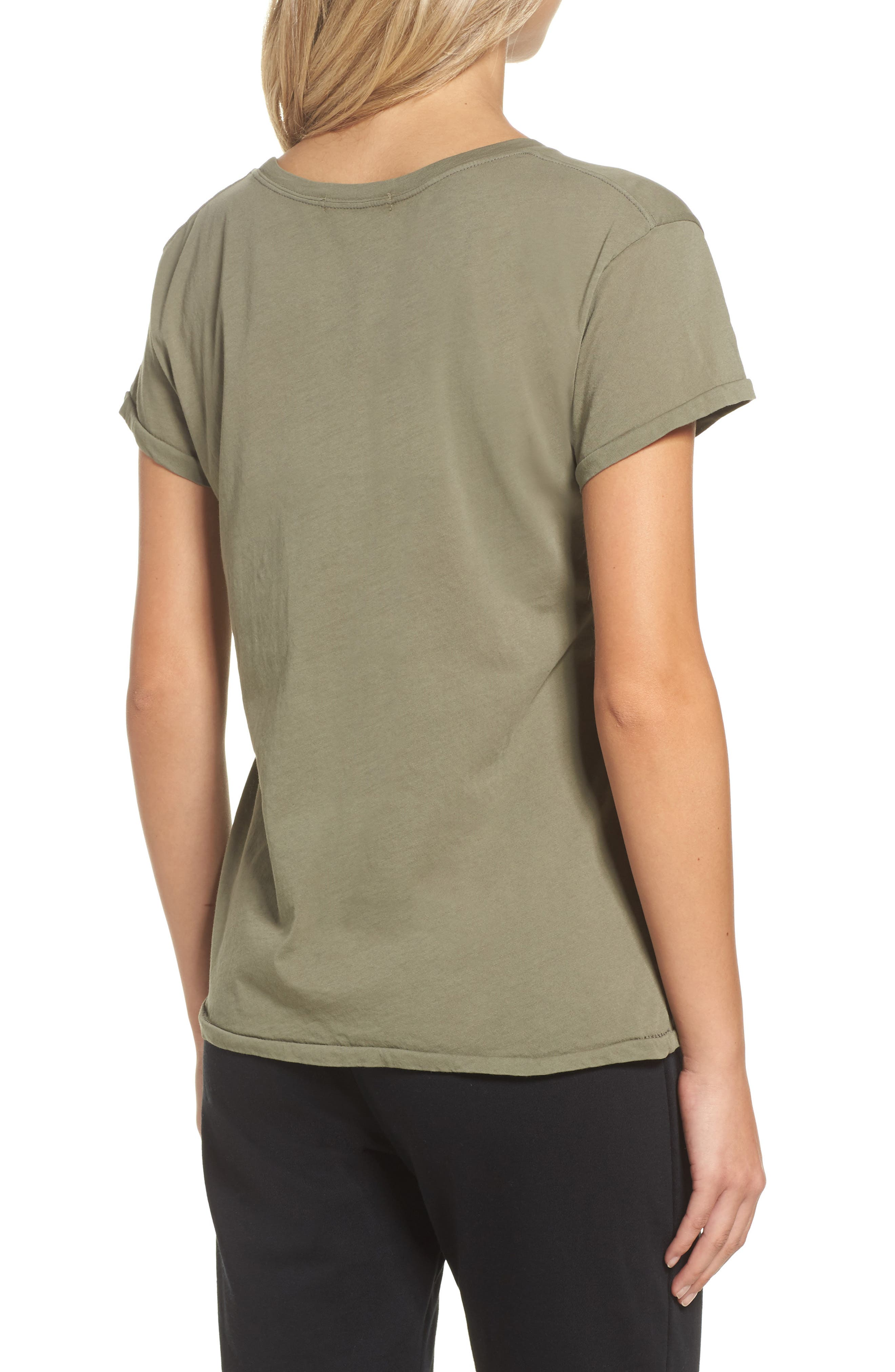 Tee,                             Alternate thumbnail 2, color,                             Army