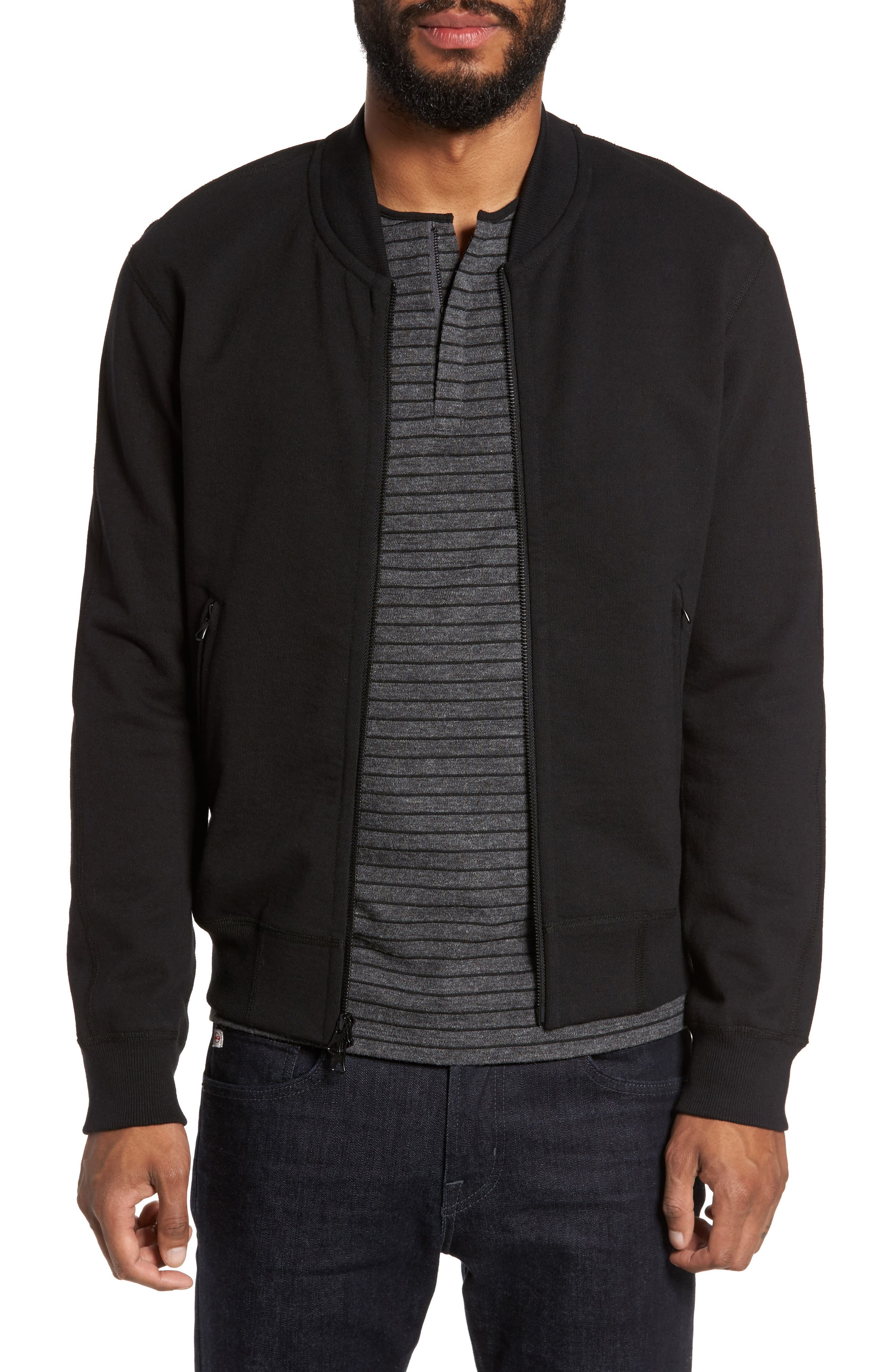 Alternate Image 1 Selected - Reigning Champ Varsity Heavyweight Terry Jacket