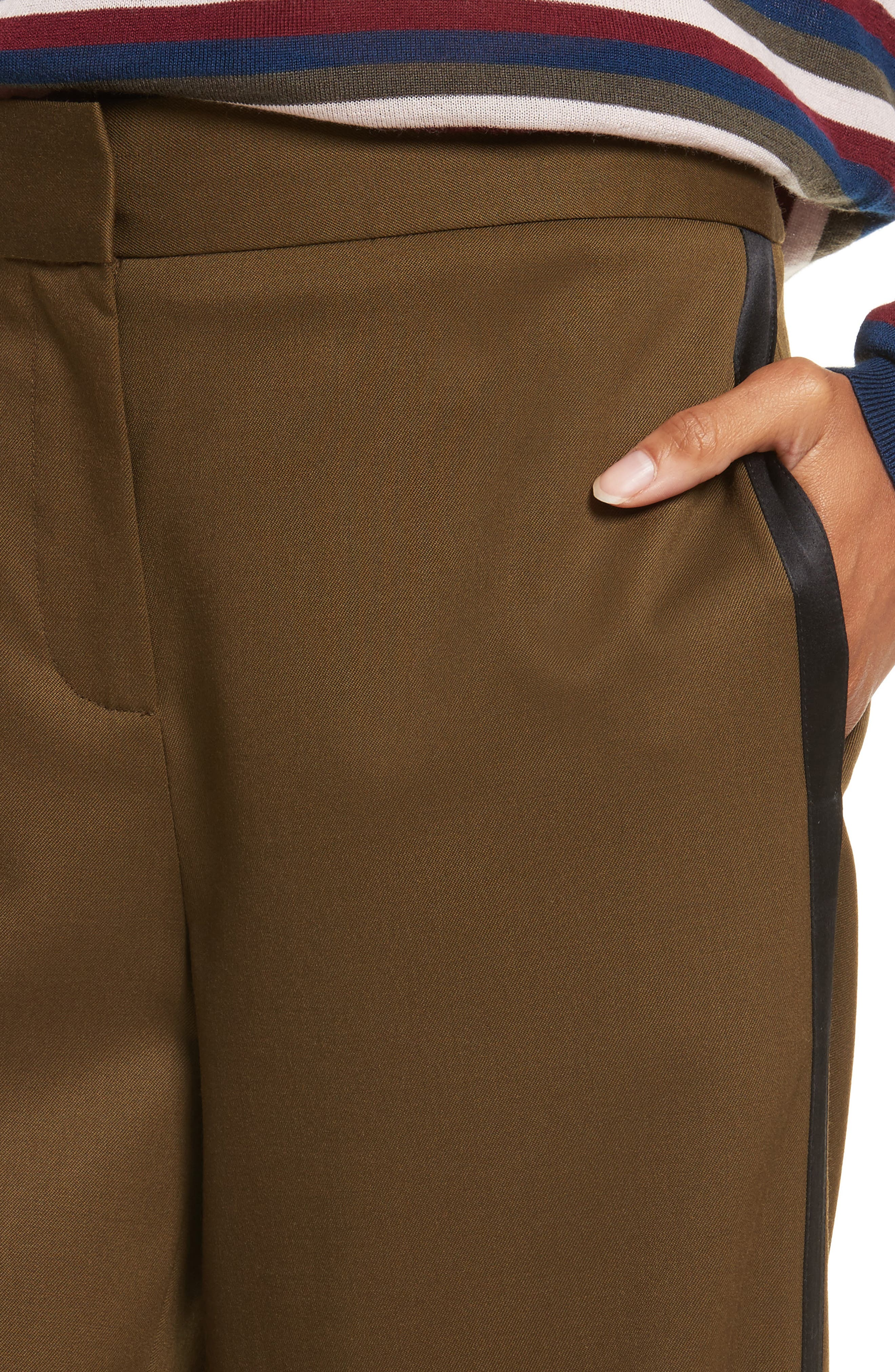 Alternate Image 5  - GREY Jason Wu Crop Straight Leg Pants