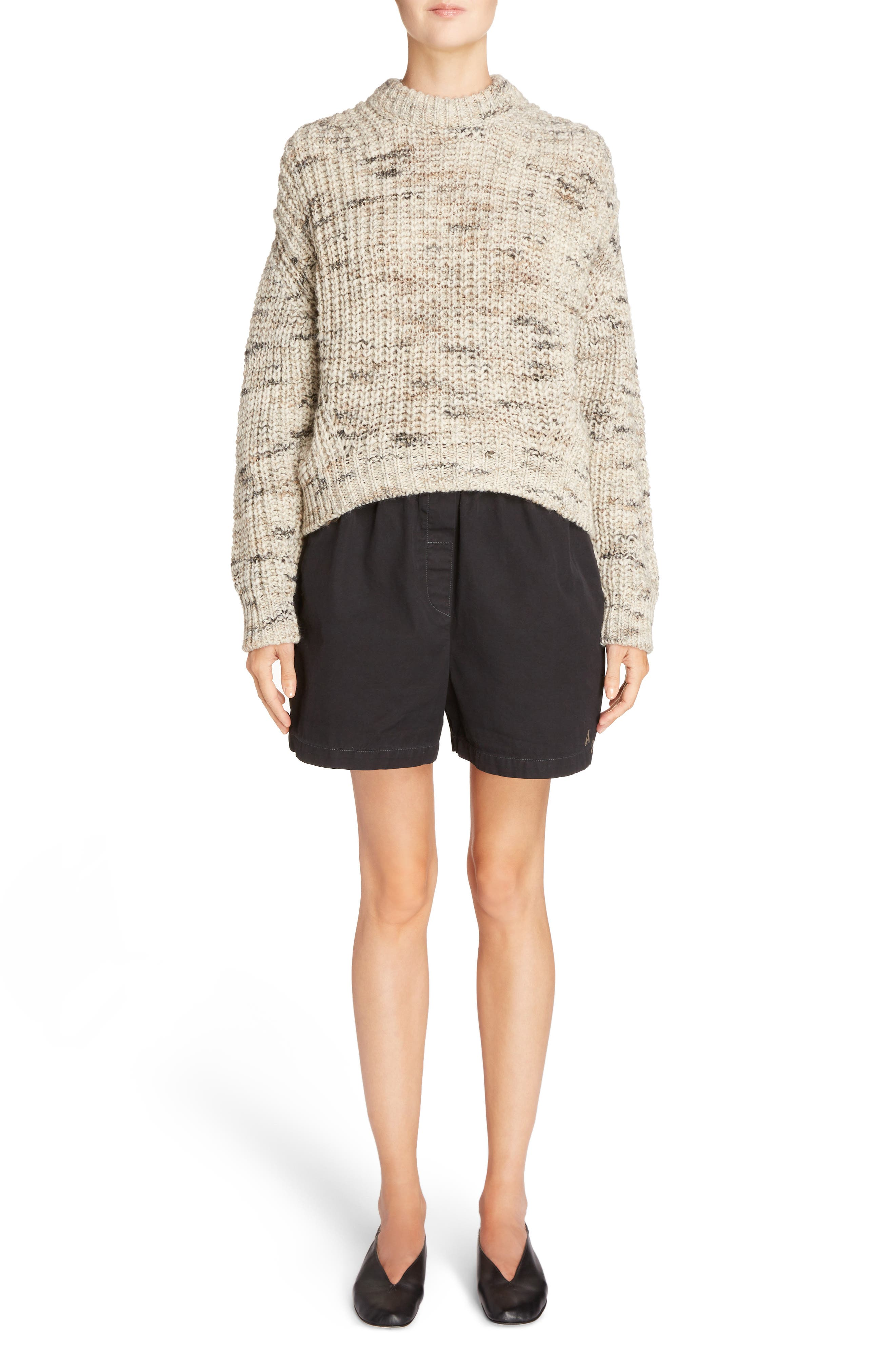 Zora Multi Sweater,                             Alternate thumbnail 6, color,                             White Mix