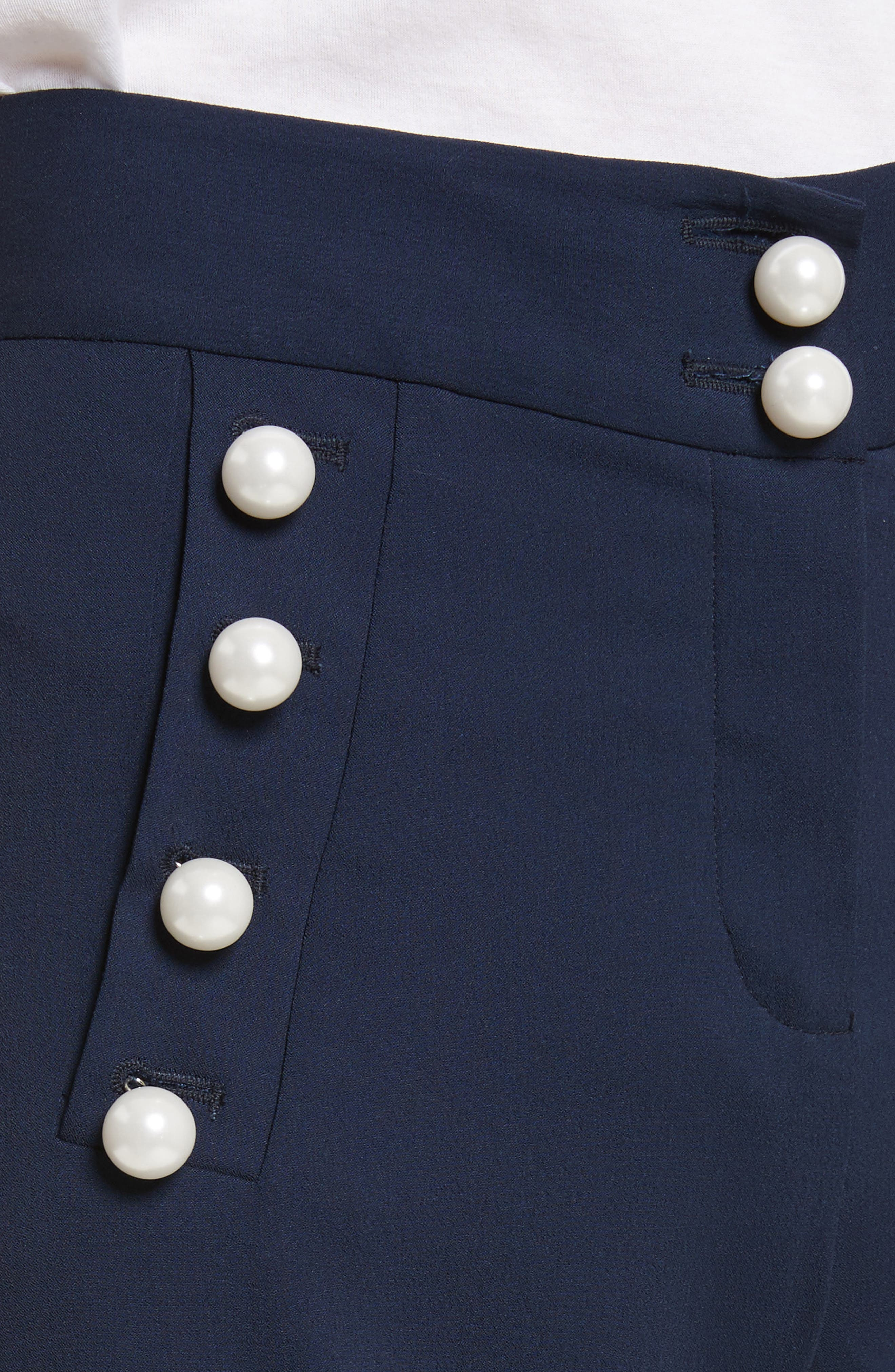 Adley Sailor Pants,                             Alternate thumbnail 5, color,                             Navy