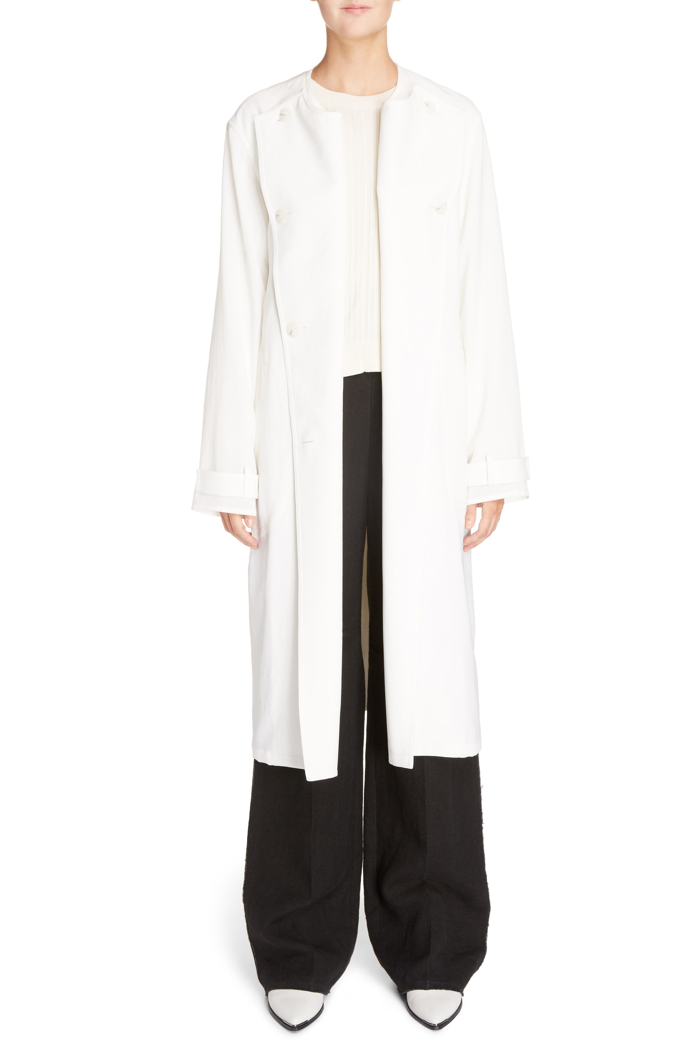 Alternate Image 6  - ACNE Studios Angelica Twill Coat