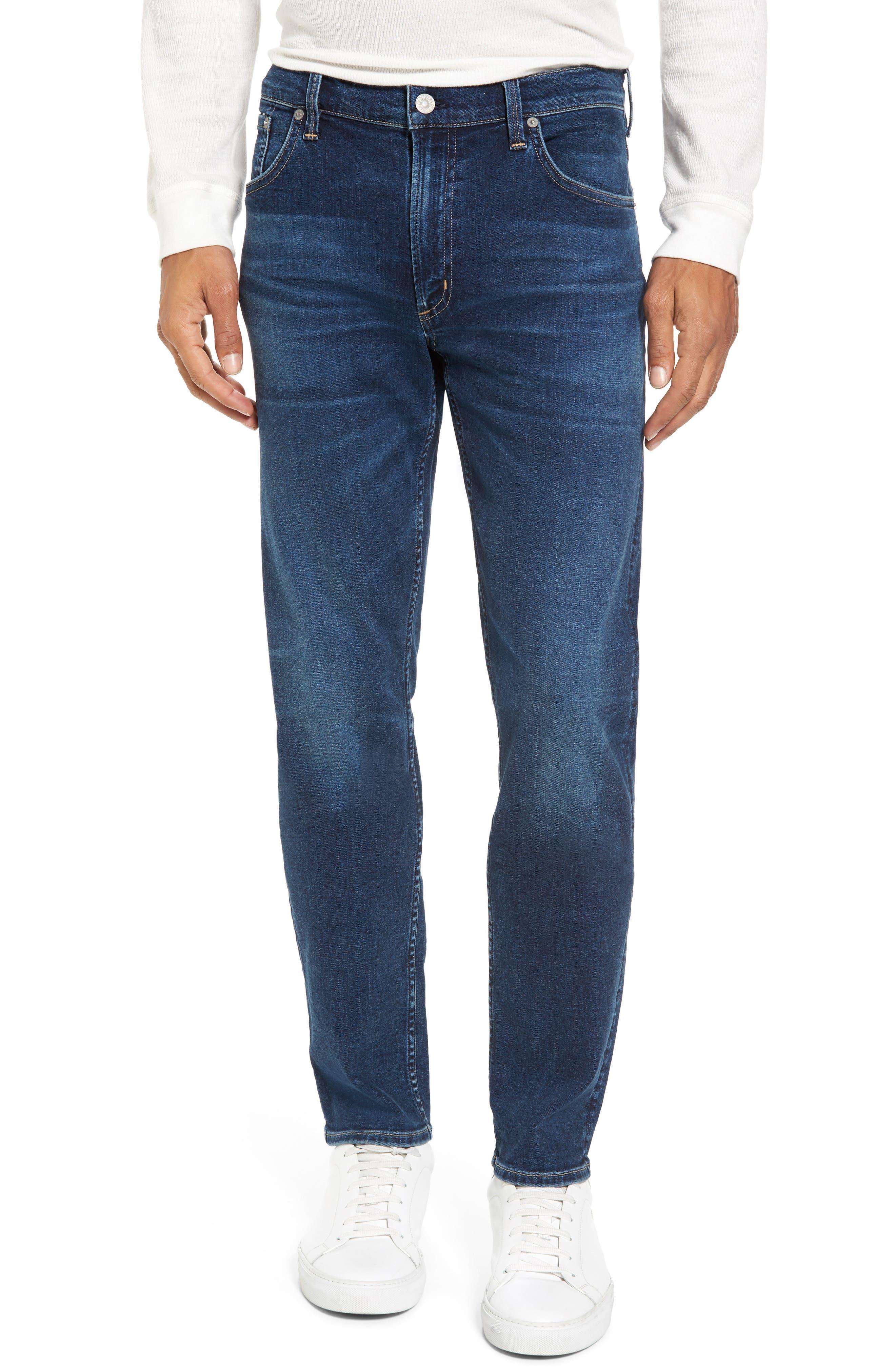 PERFORM - Gage Slim Straight Leg Jeans,                         Main,                         color, Turner