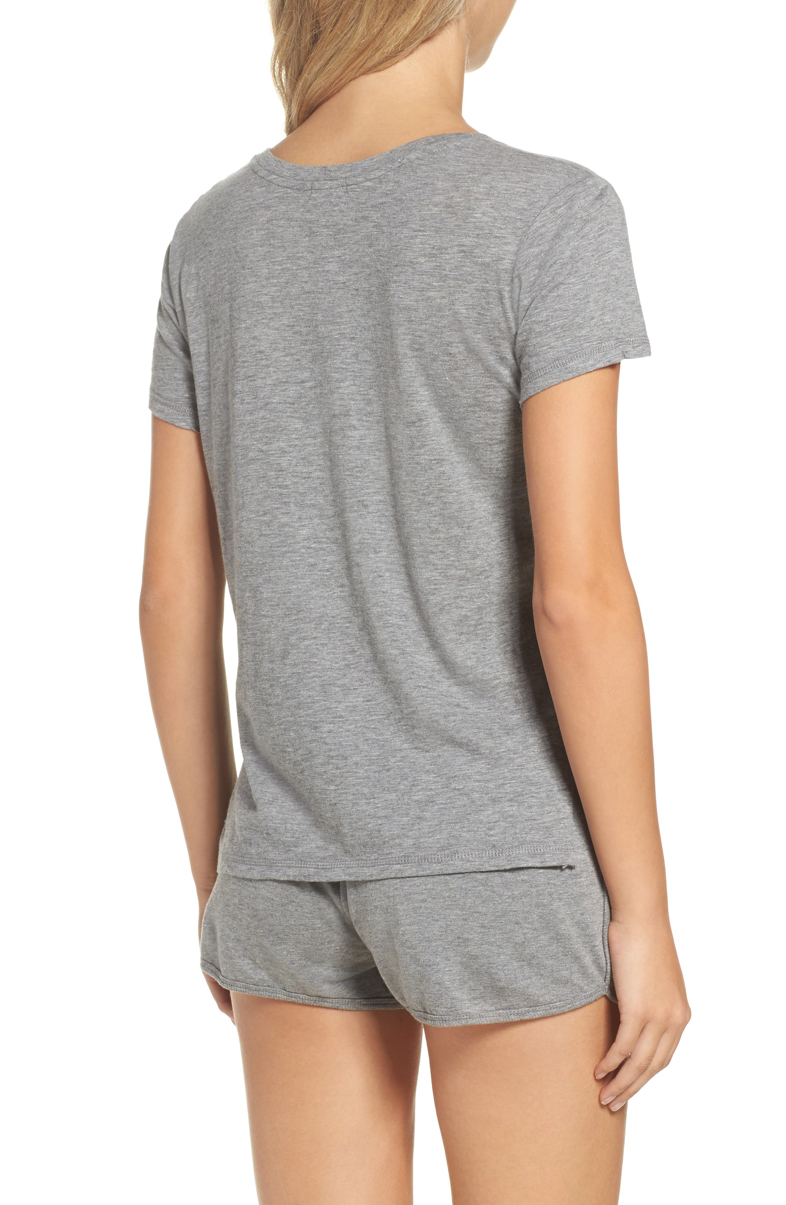 Star Patch Tee,                             Alternate thumbnail 2, color,                             H Grey