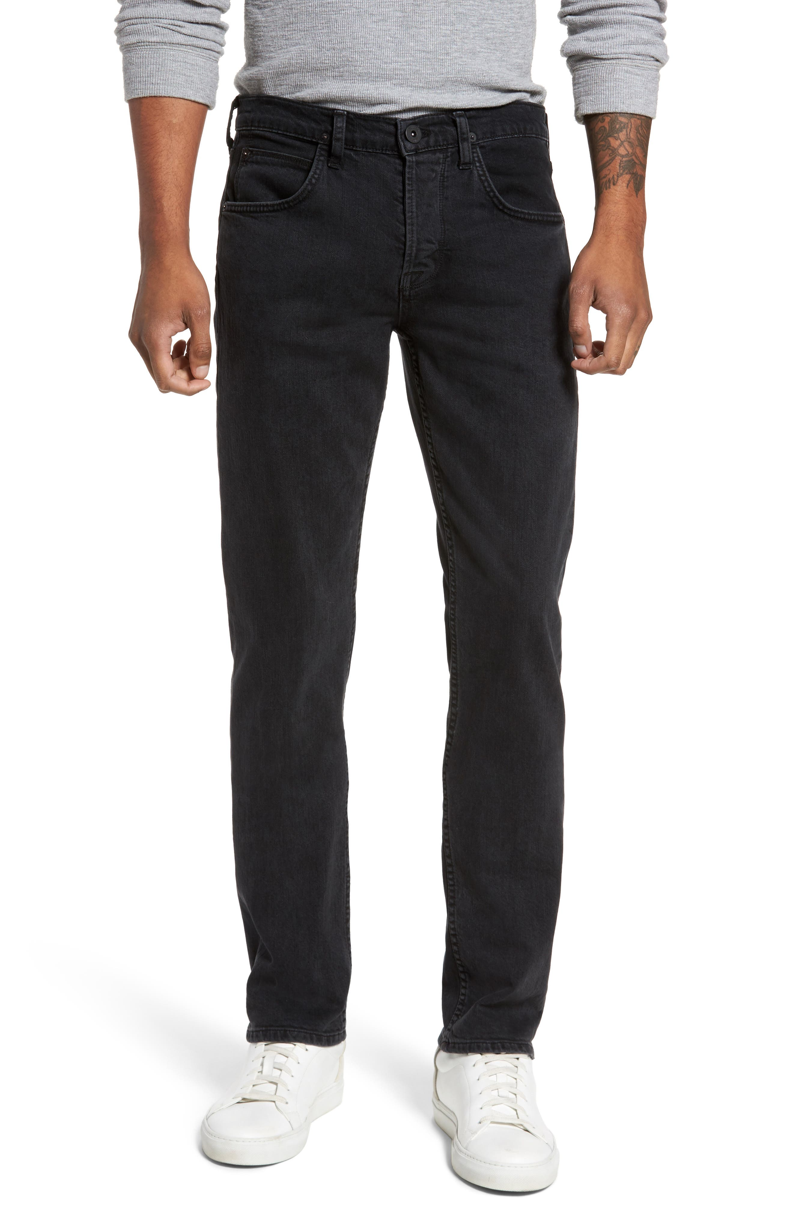 Alternate Image 1 Selected - Hudson Jeans Byron Slim Straight Fit Jeans (Unmarked)