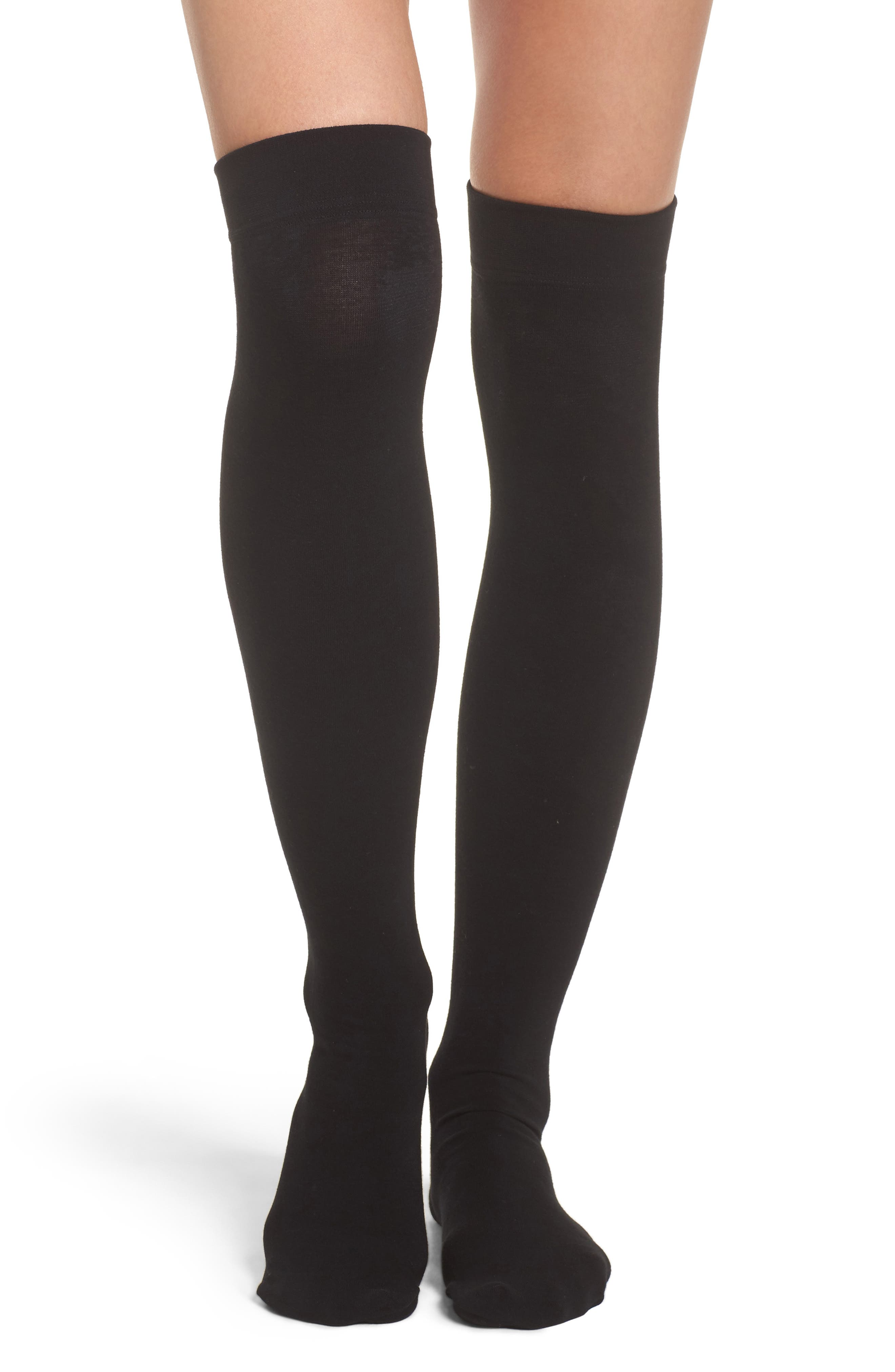 DKNY SkinSense™ Fleece Over the Knee Socks