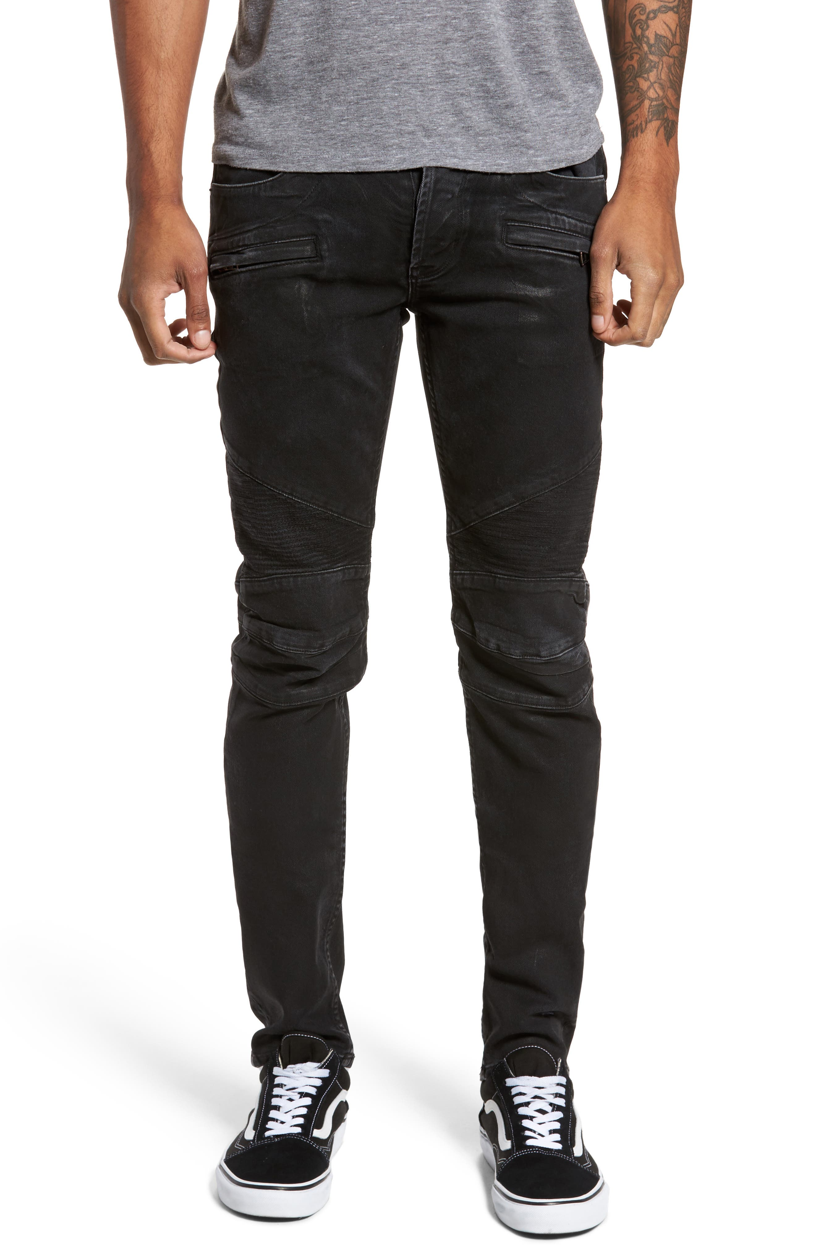Alternate Image 1 Selected - Hudson Jeans Blinder Biker Skinny Fit Jeans (Skeme)