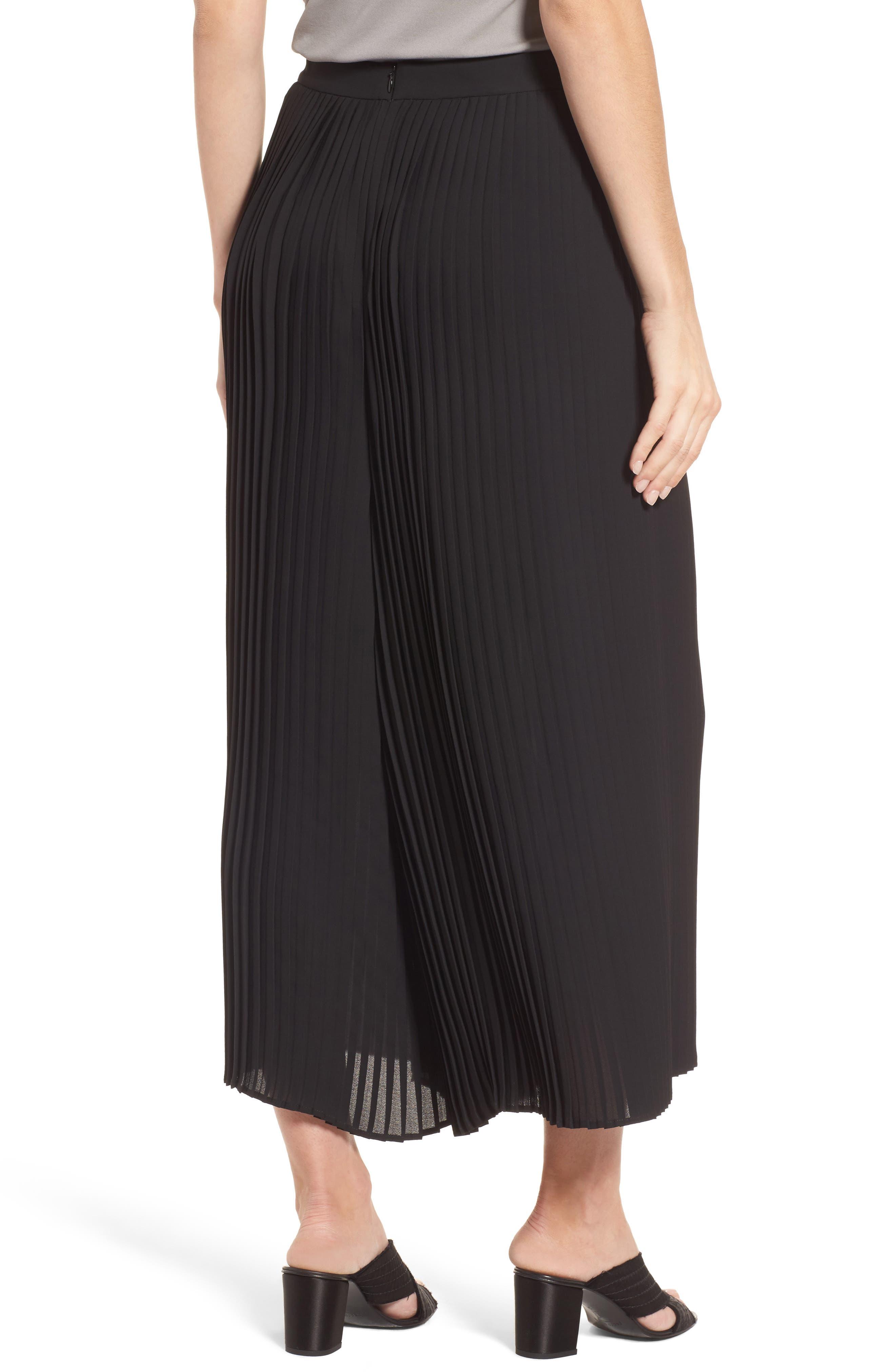 Alternate Image 2  - Eileen Fisher Wide Leg Ankle Pants (Regular & Petite)