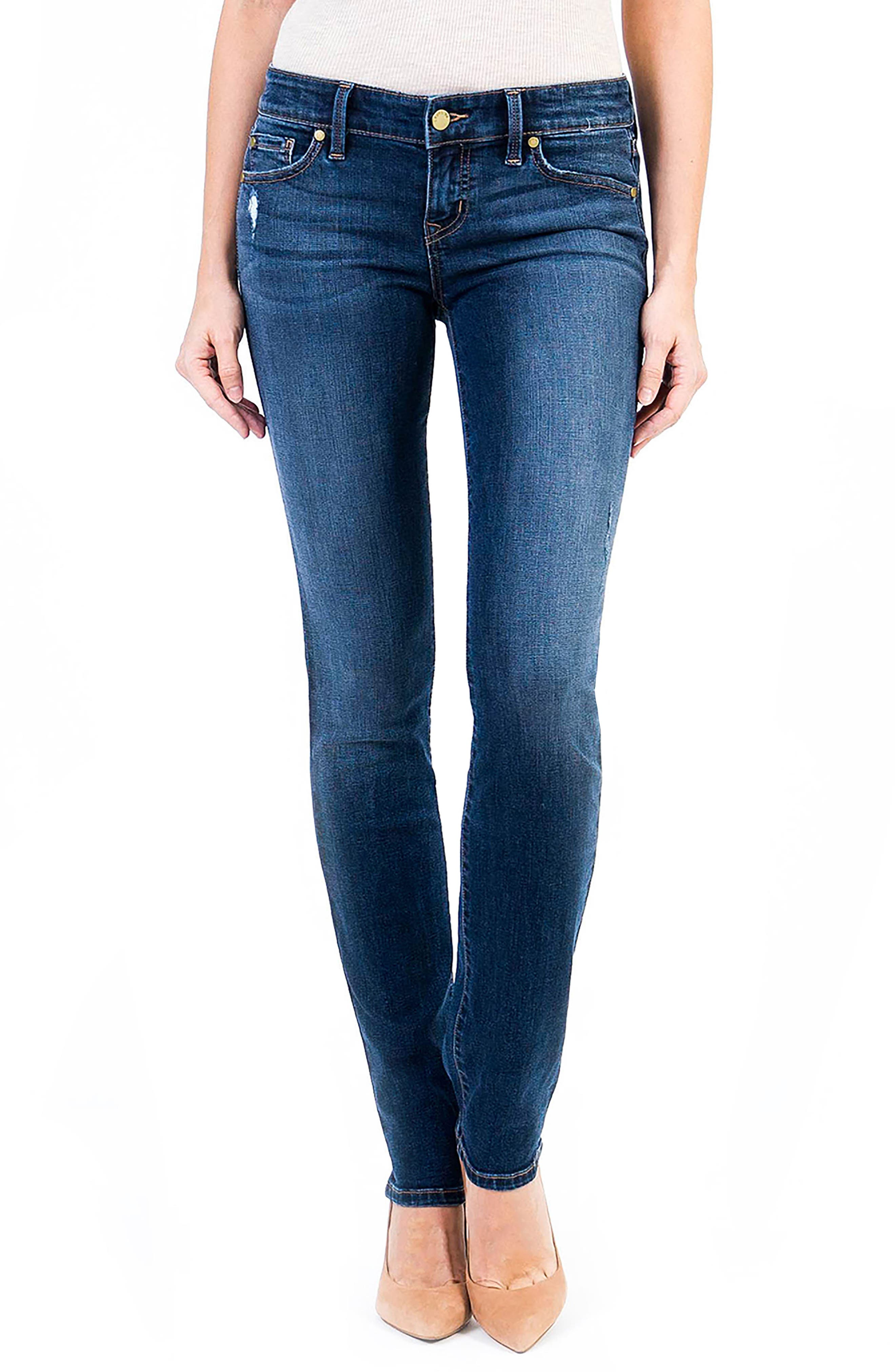 Lily Stretch Skinny Jeans,                         Main,                         color, Von Zep