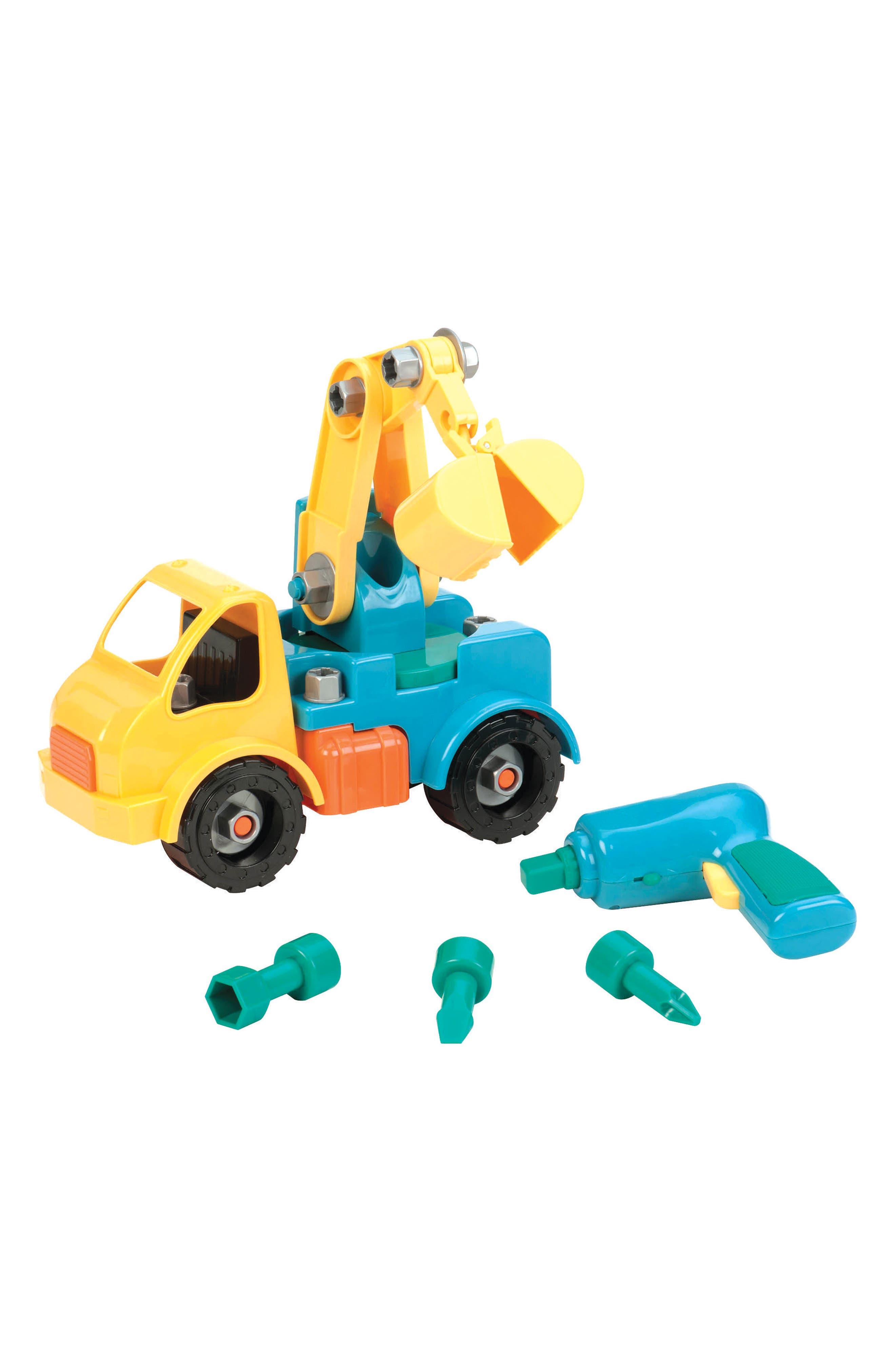 Battat Take-Apart Crane Truck,                             Alternate thumbnail 2, color,                             Multi