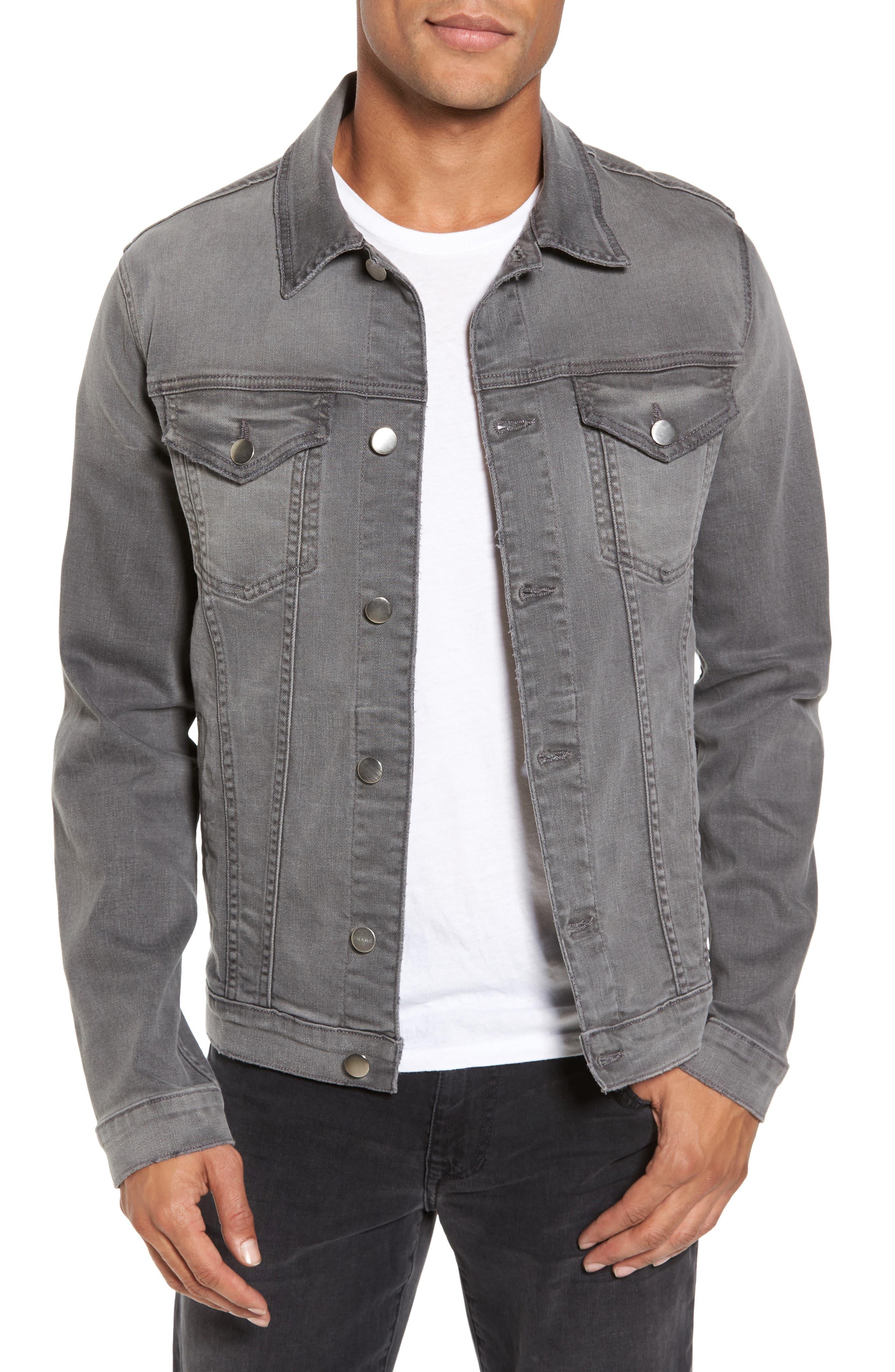 L'Homme Denim Jacket,                         Main,                         color, Grayson