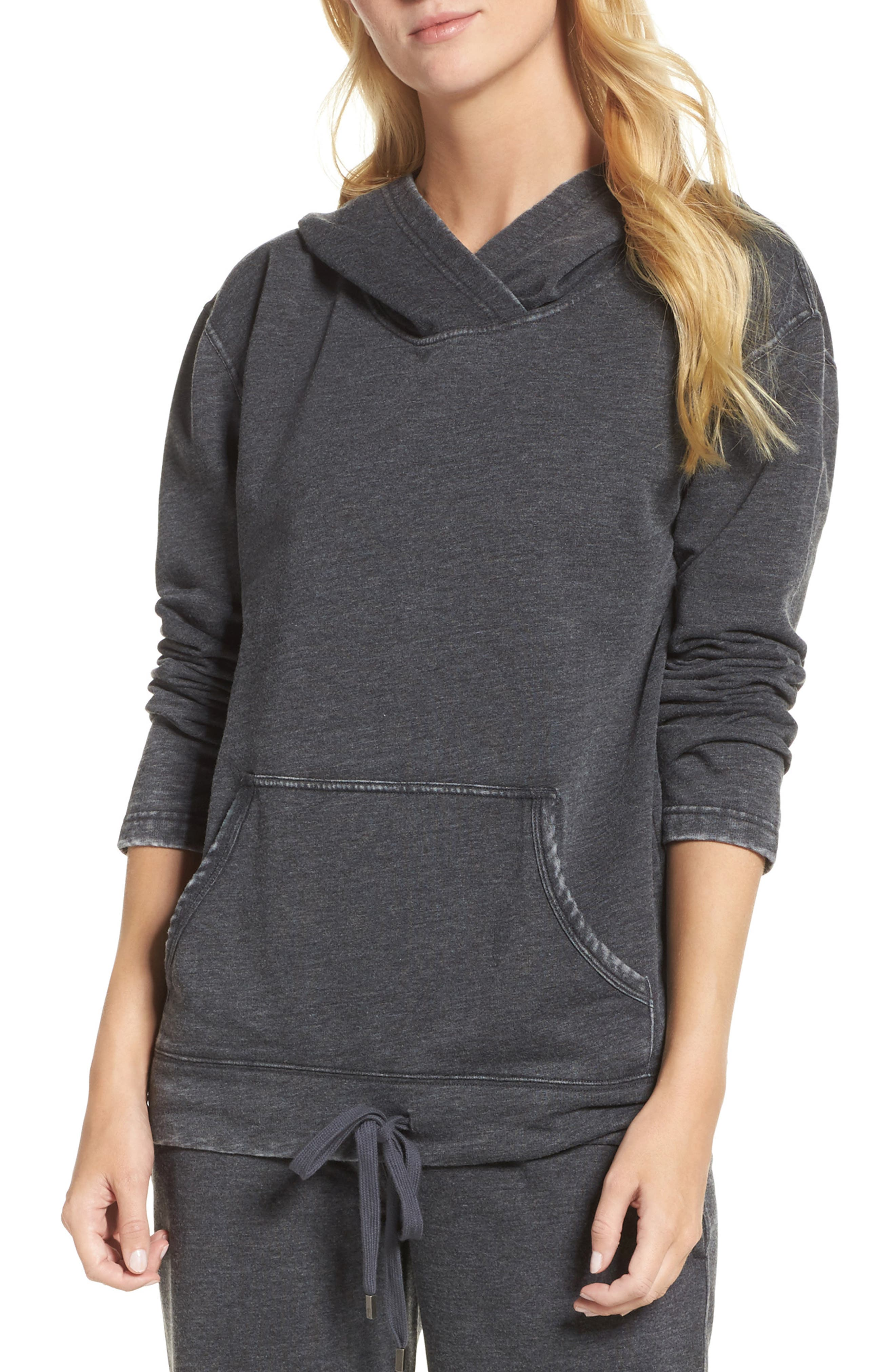 Cora Hoodie,                         Main,                         color, Charcoal
