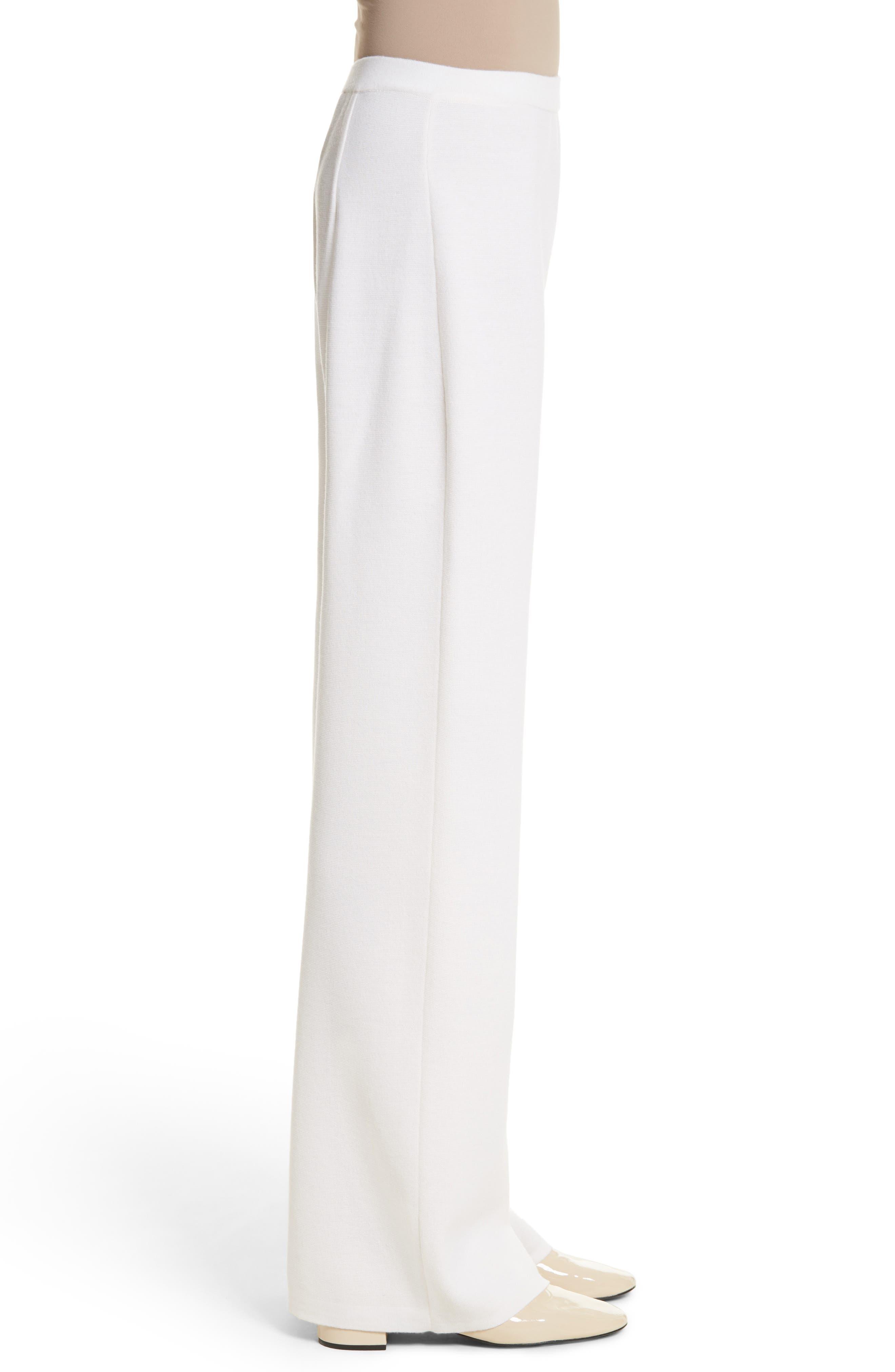Brando Wool Wide Leg Pants,                             Alternate thumbnail 7, color,                             Silk