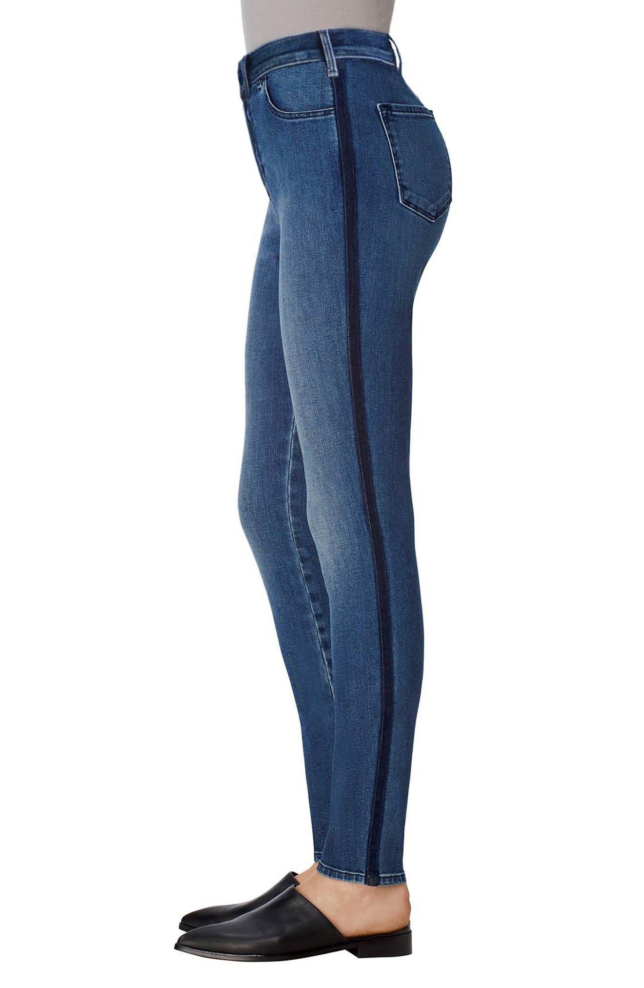 Alternate Image 3  - J Brand Maria High Rise Skinny Jeans (Point Blank)
