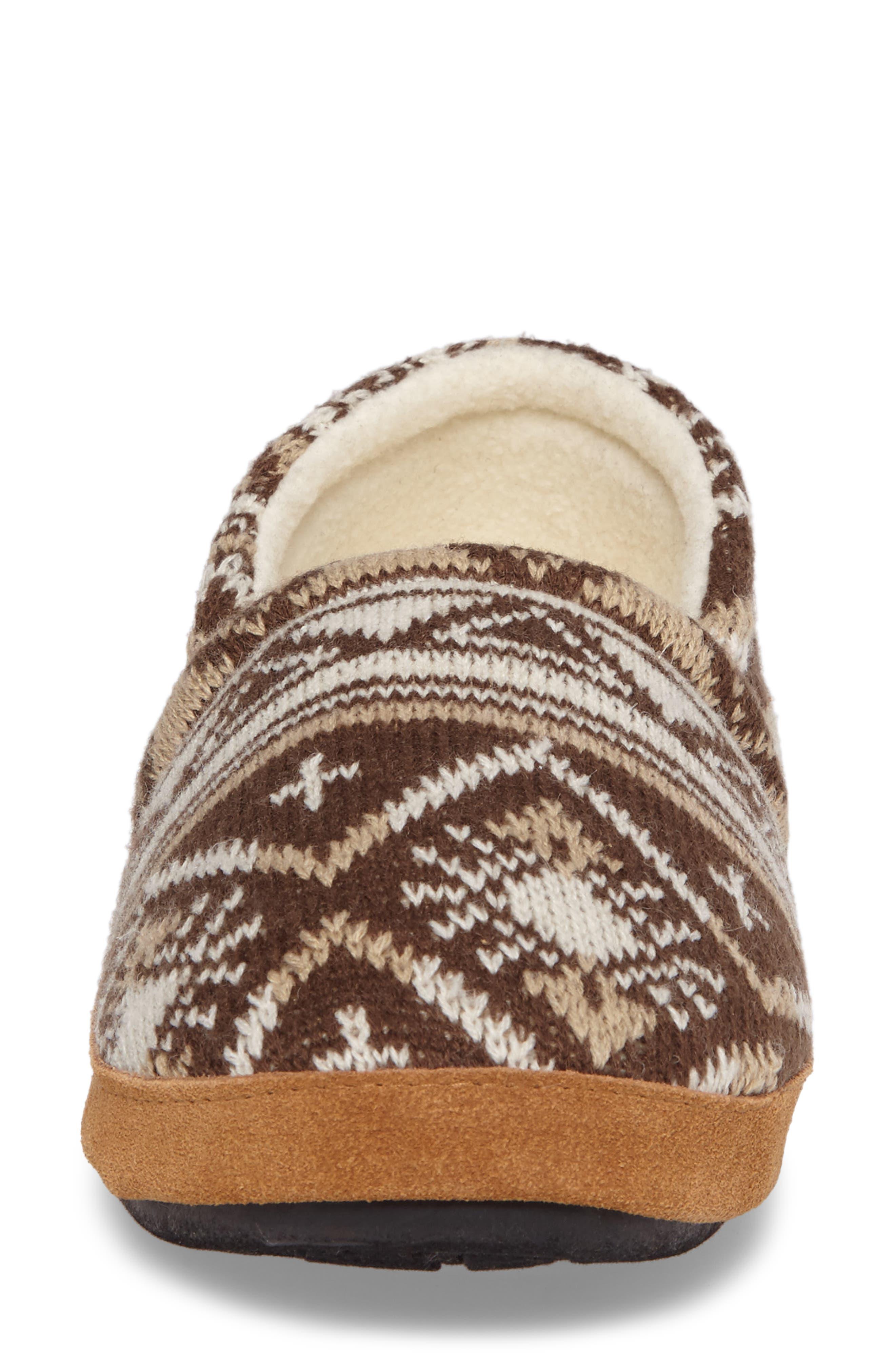 Alternate Image 4  - Woolrich Whitecap Knit Slipper (Women)