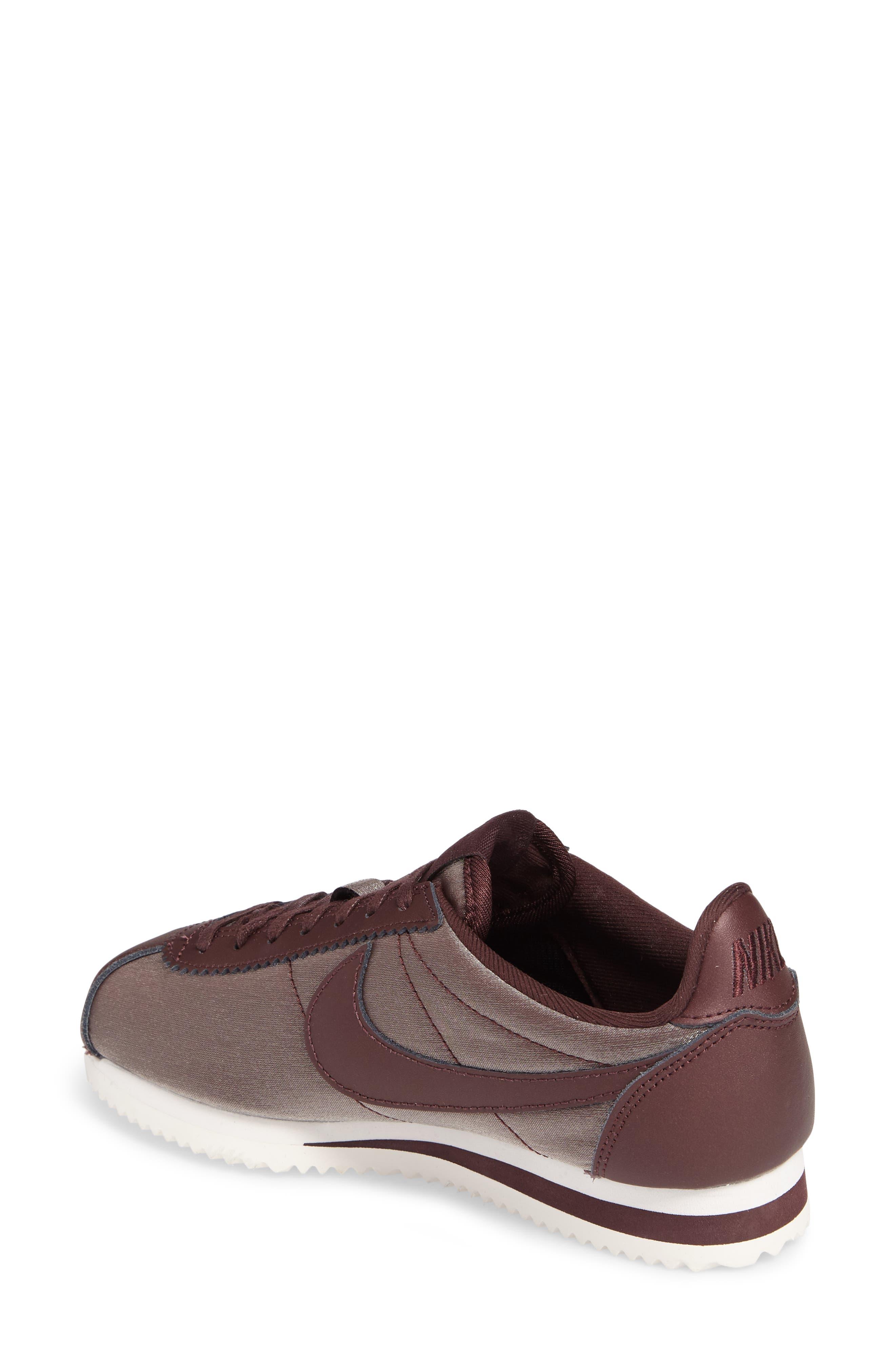 Classic Cortez Premium XLV Sneaker,                             Alternate thumbnail 2, color,                             Mahogany/ Mahogany/ White