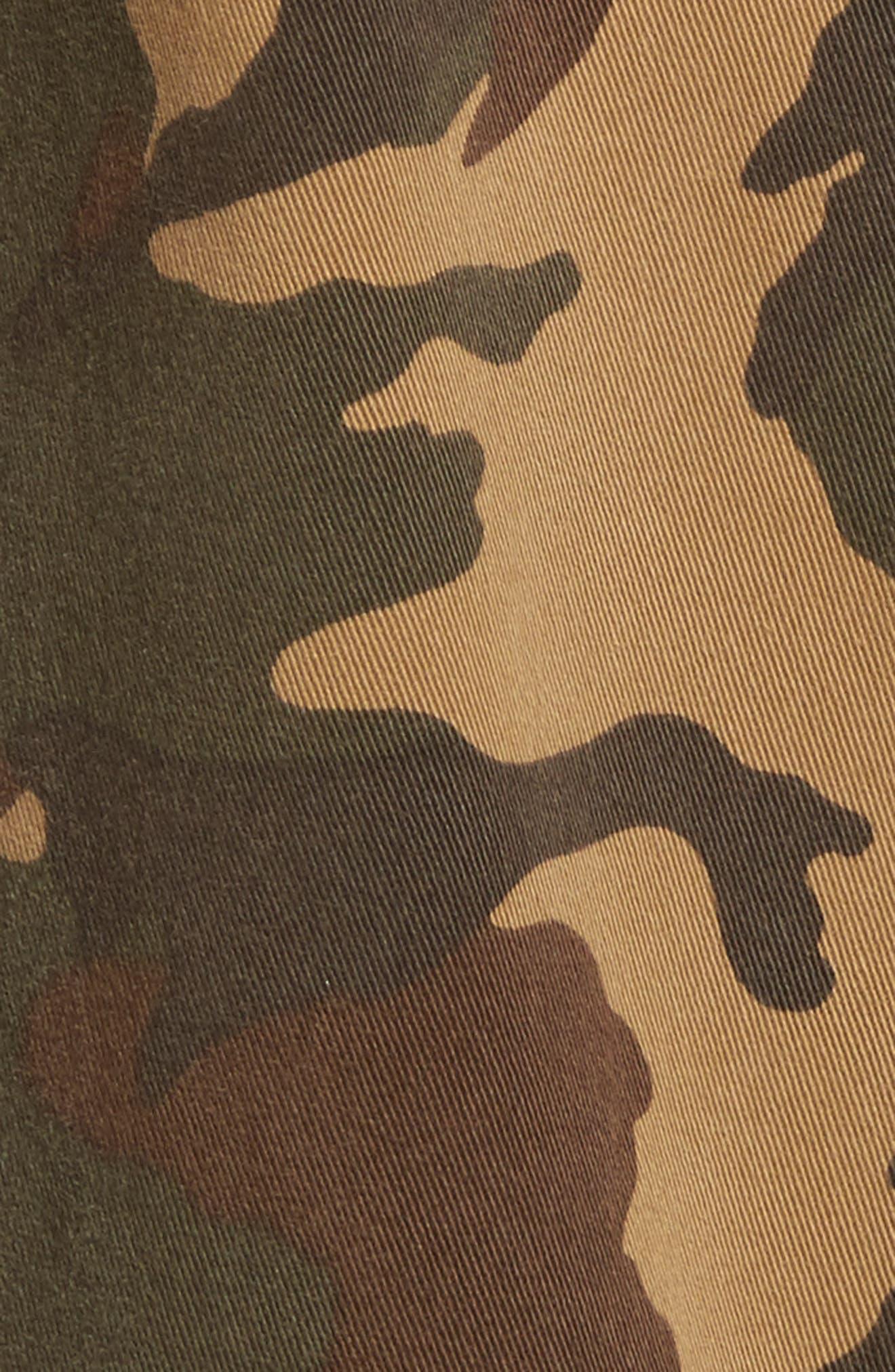 Alternate Image 5  - Proenza Schouler PSWL Camouflage Stretch Cotton Pants