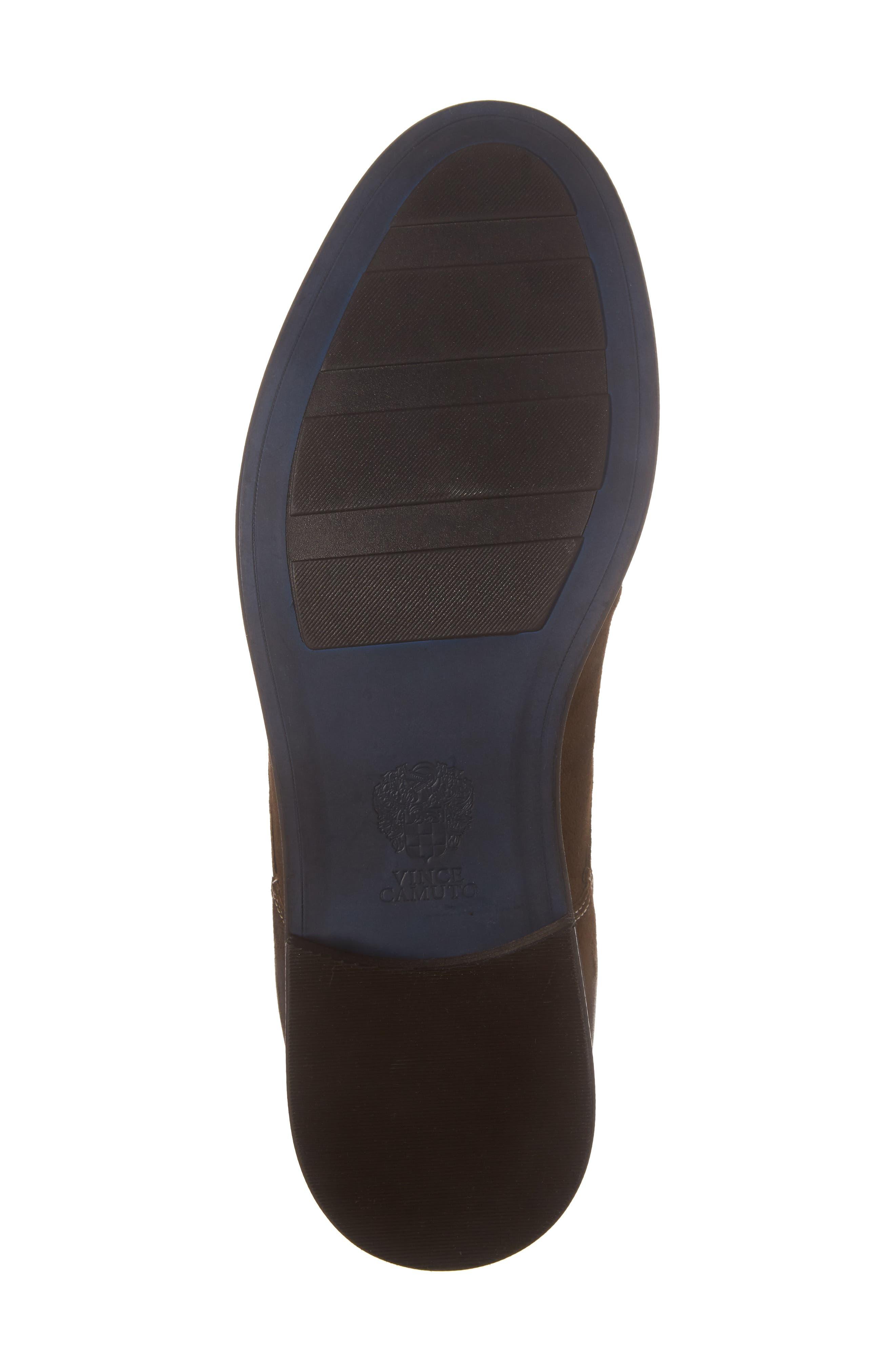 Cordie Plain Toe Boot,                             Alternate thumbnail 6, color,                             Oliva Suede