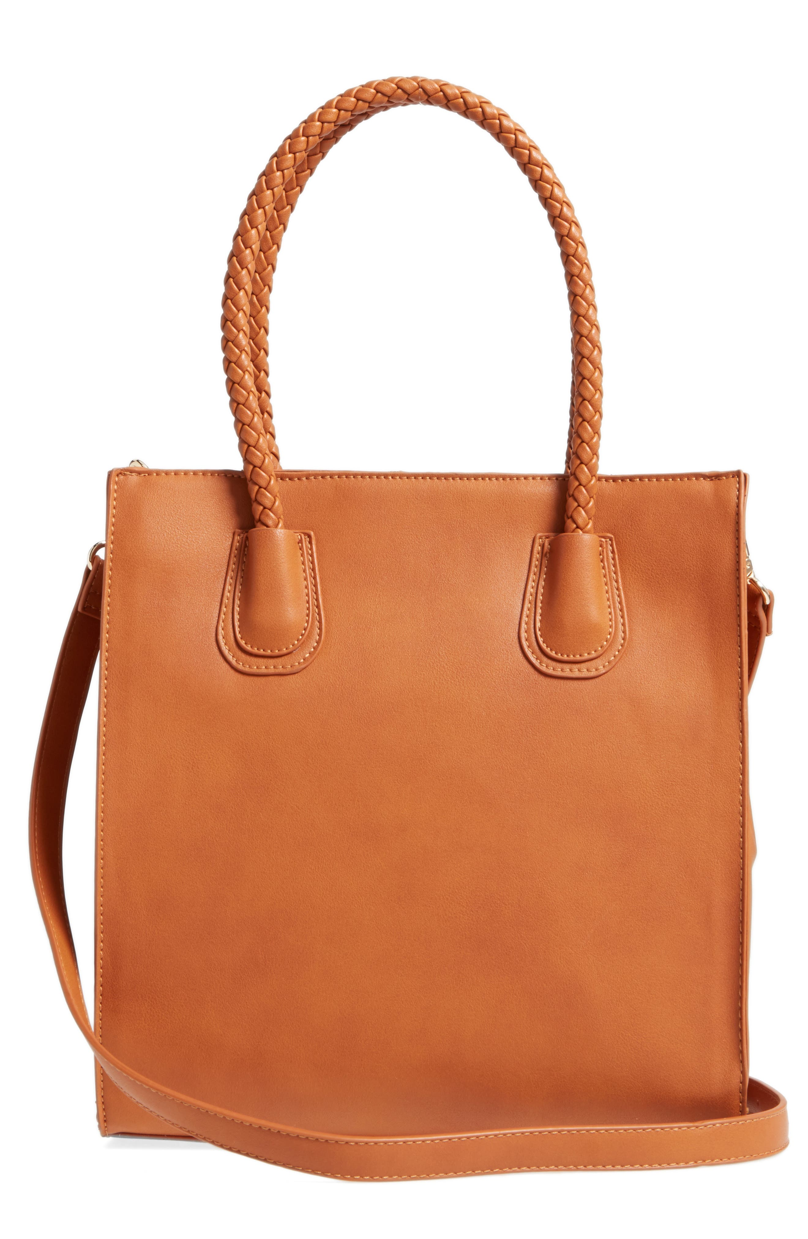 Alternate Image 2  - Emperia Whipstitch Faux Leather Tote