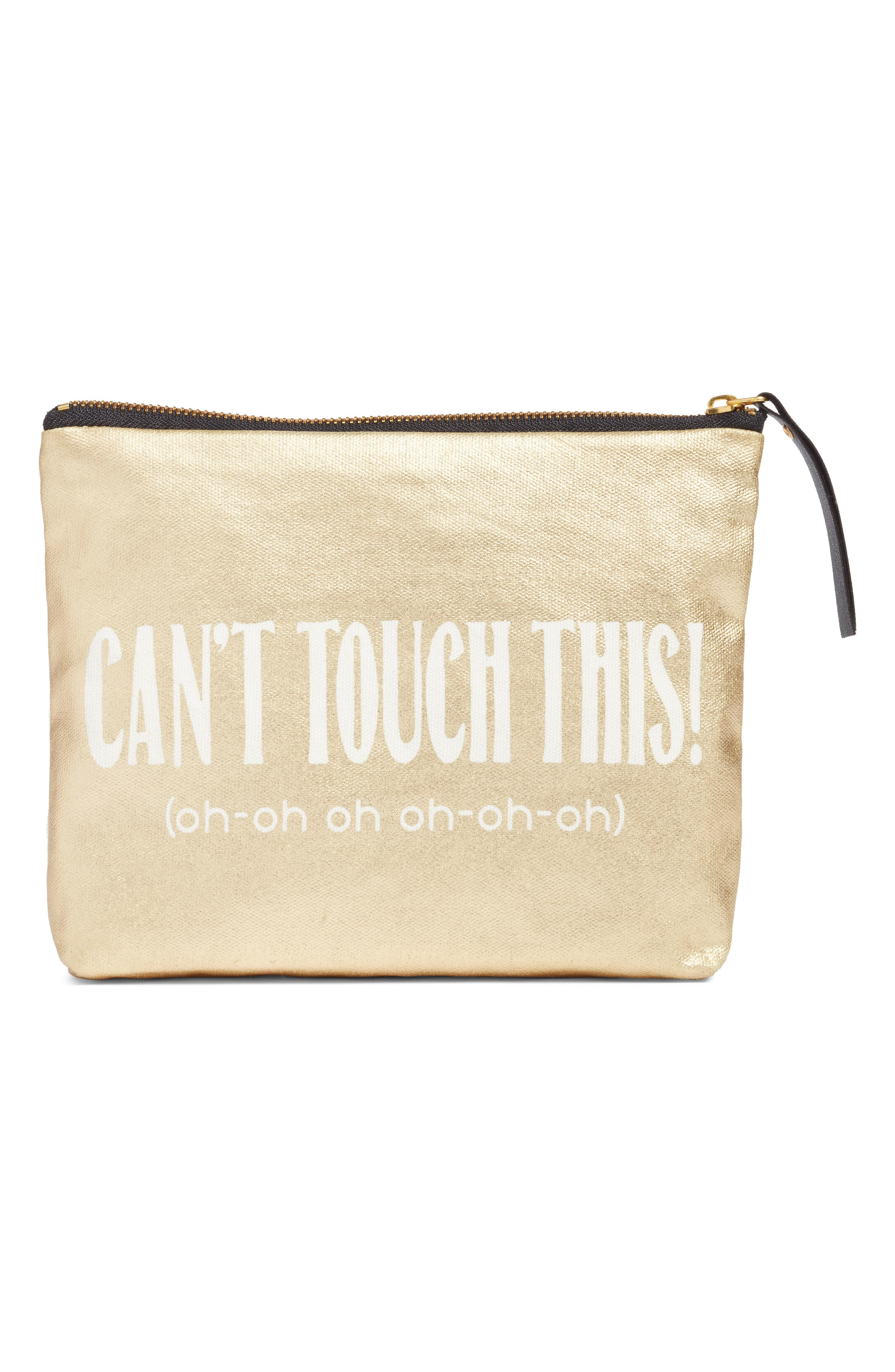 Levtex Can't Touch This Zip Pouch