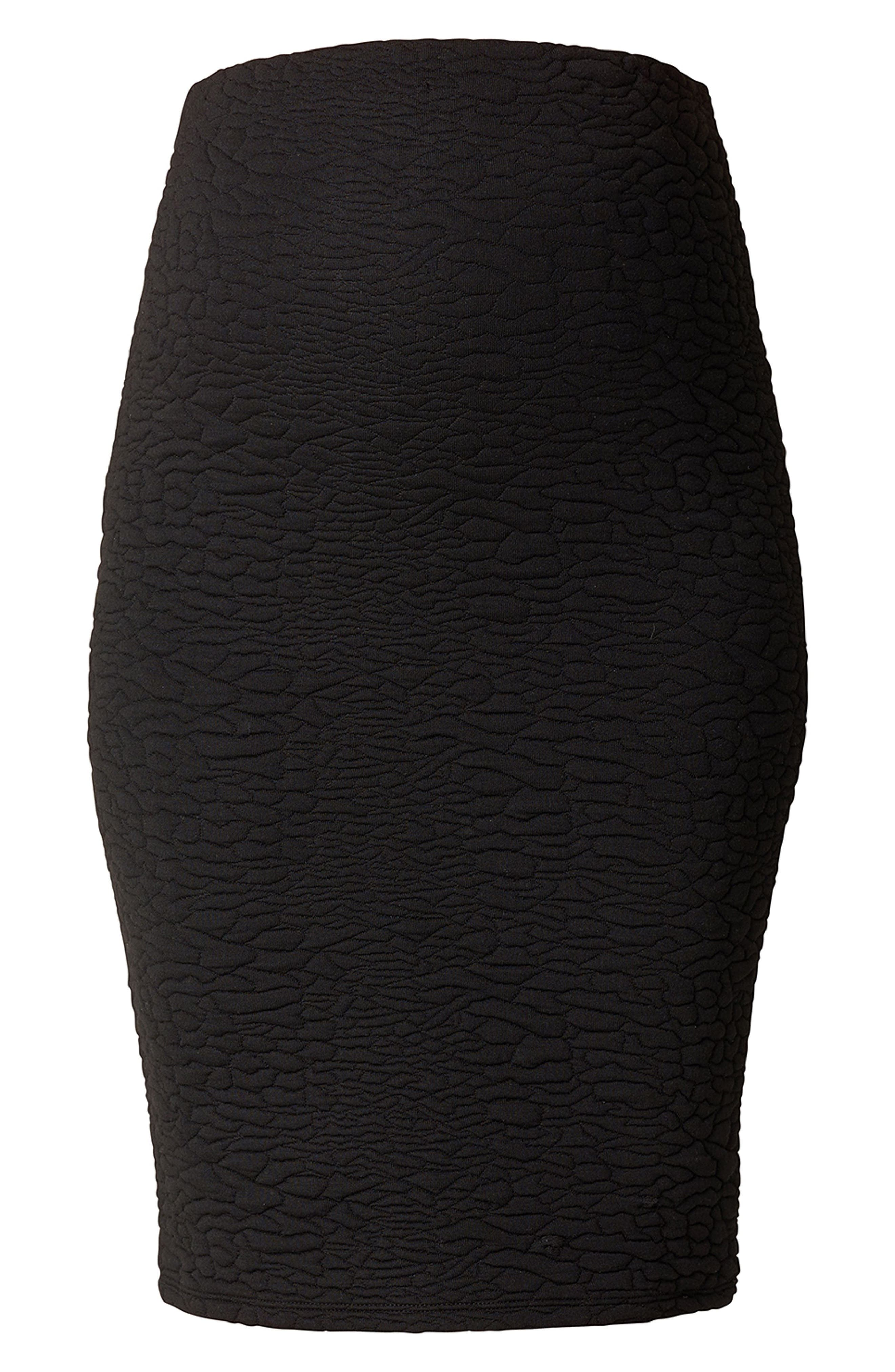 Alternate Image 1 Selected - Noppies Jane Textured Knit Maternity Skirt