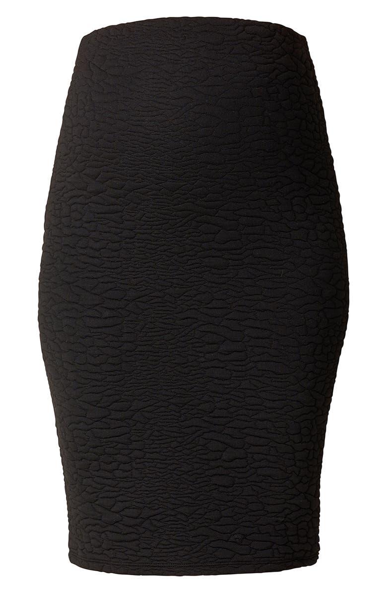 Jane Textured Knit Maternity Skirt