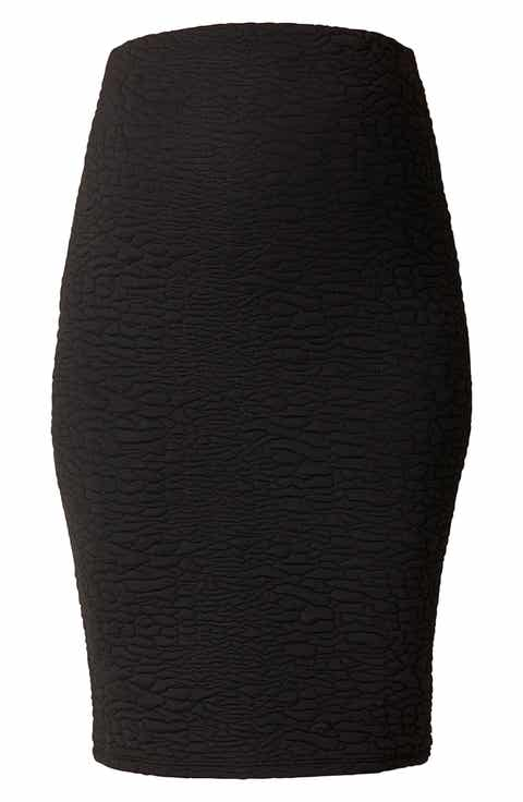 Noppies Jane Textured Knit Maternity Skirt