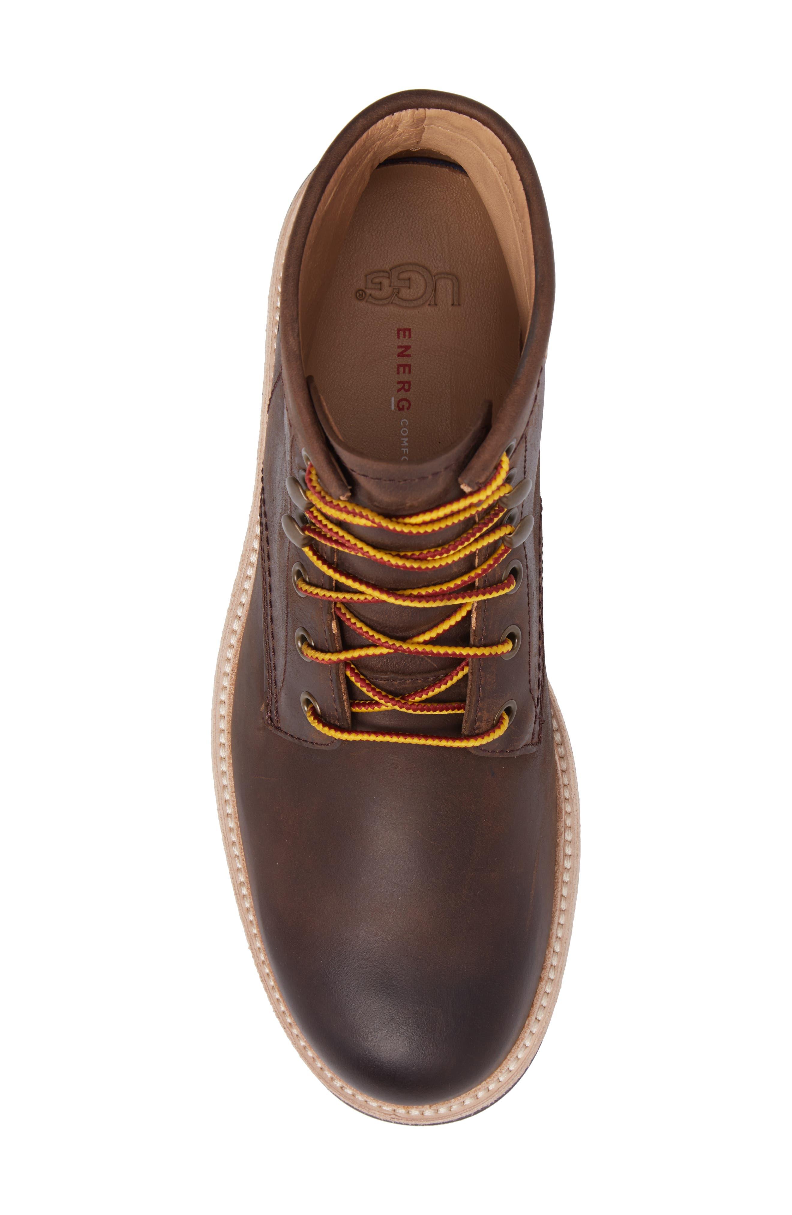 Vestmar Plain Toe Boot,                             Alternate thumbnail 5, color,                             Grizzly