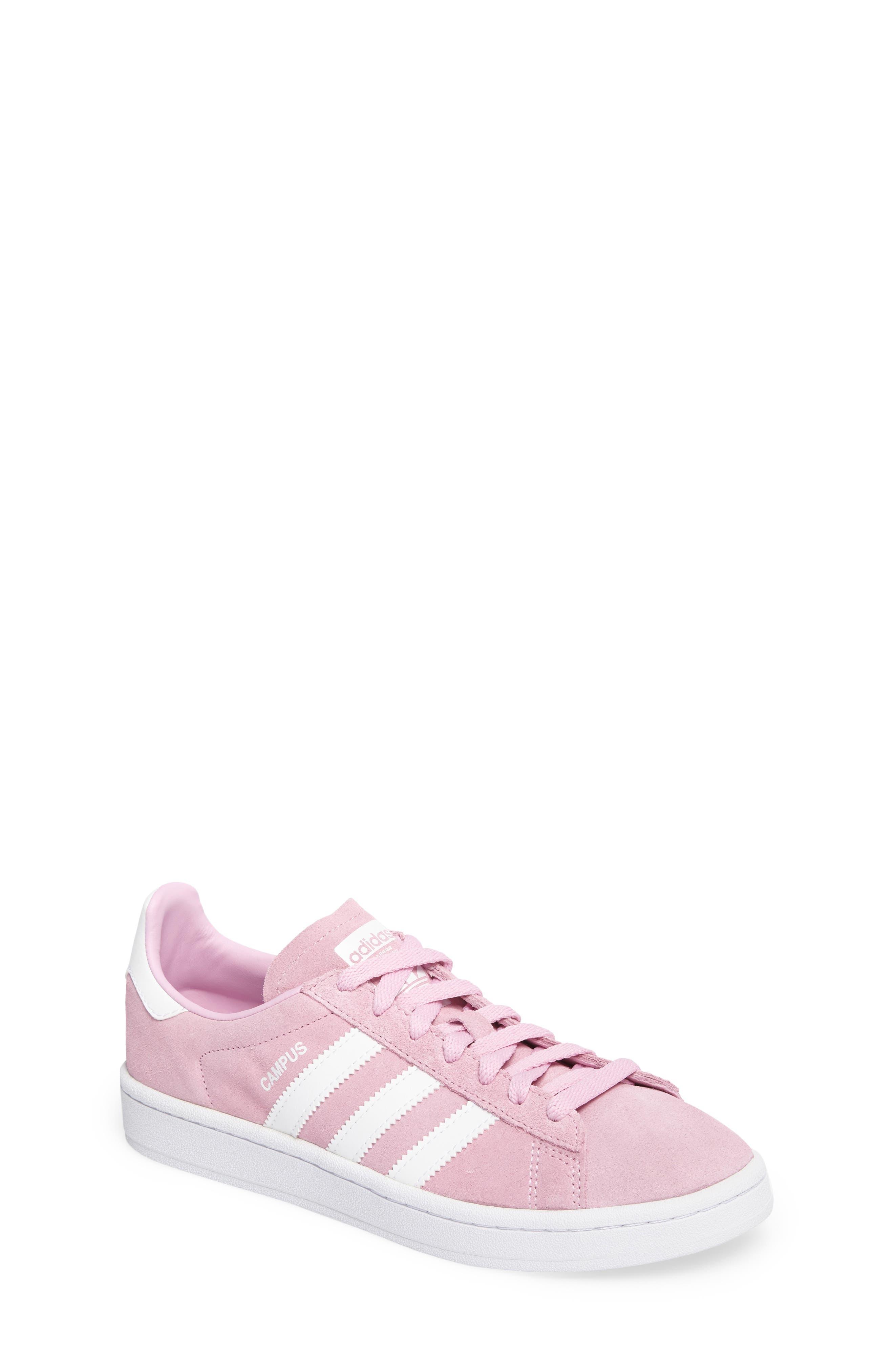 Alternate Image 1 Selected - adidas Campus Sneaker (Big Kid)