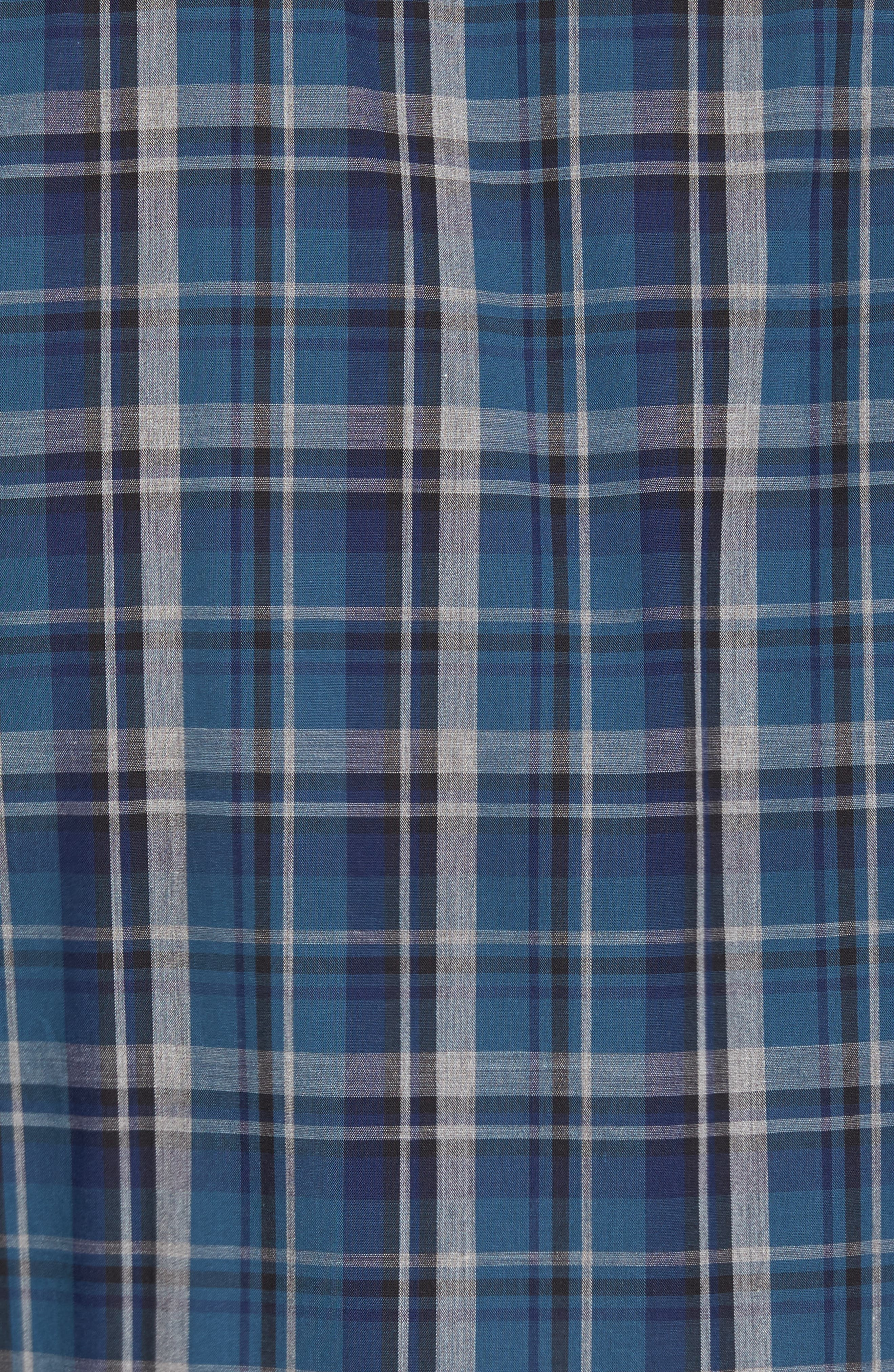Alternate Image 5  - Ledbury Slim Fit Plaid Sport Shirt