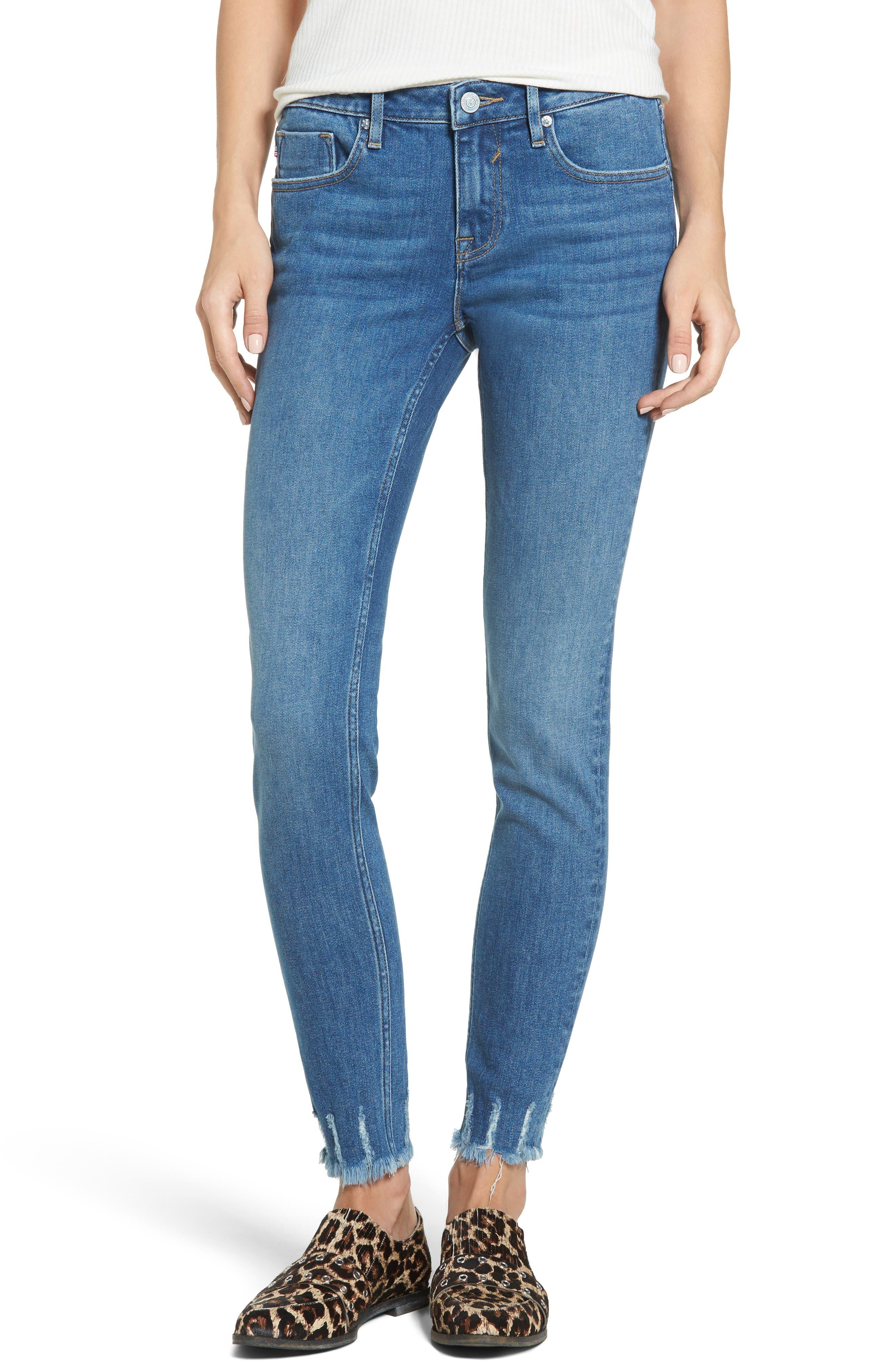 Jagger Skinny Jeans,                         Main,                         color, Med Wash