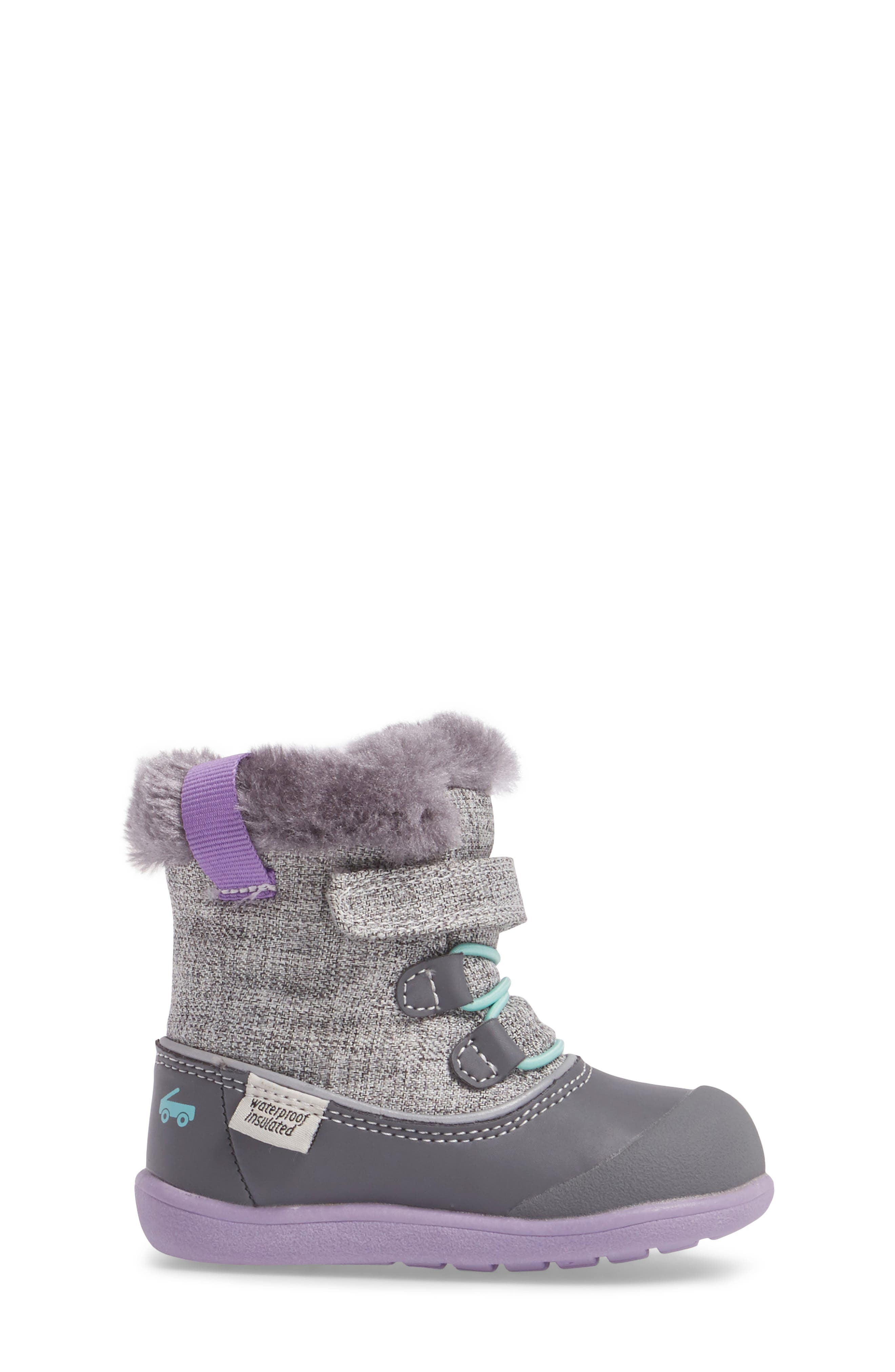 Alternate Image 3  - See Kai Run 'Abby' Waterproof Boot (Baby, Walker & Toddler)