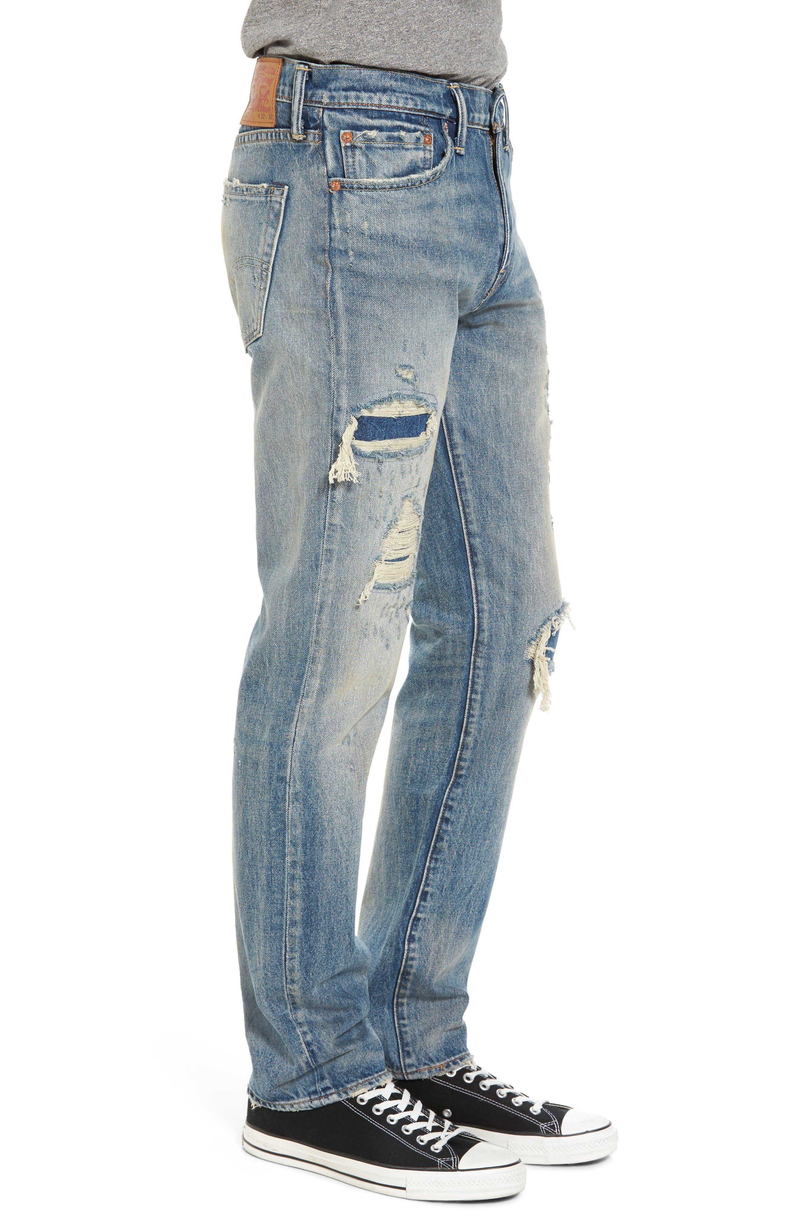 511<sup>™</sup> Slim Fit Jeans,                             Alternate thumbnail 3, color,                             Medium Blue Burn