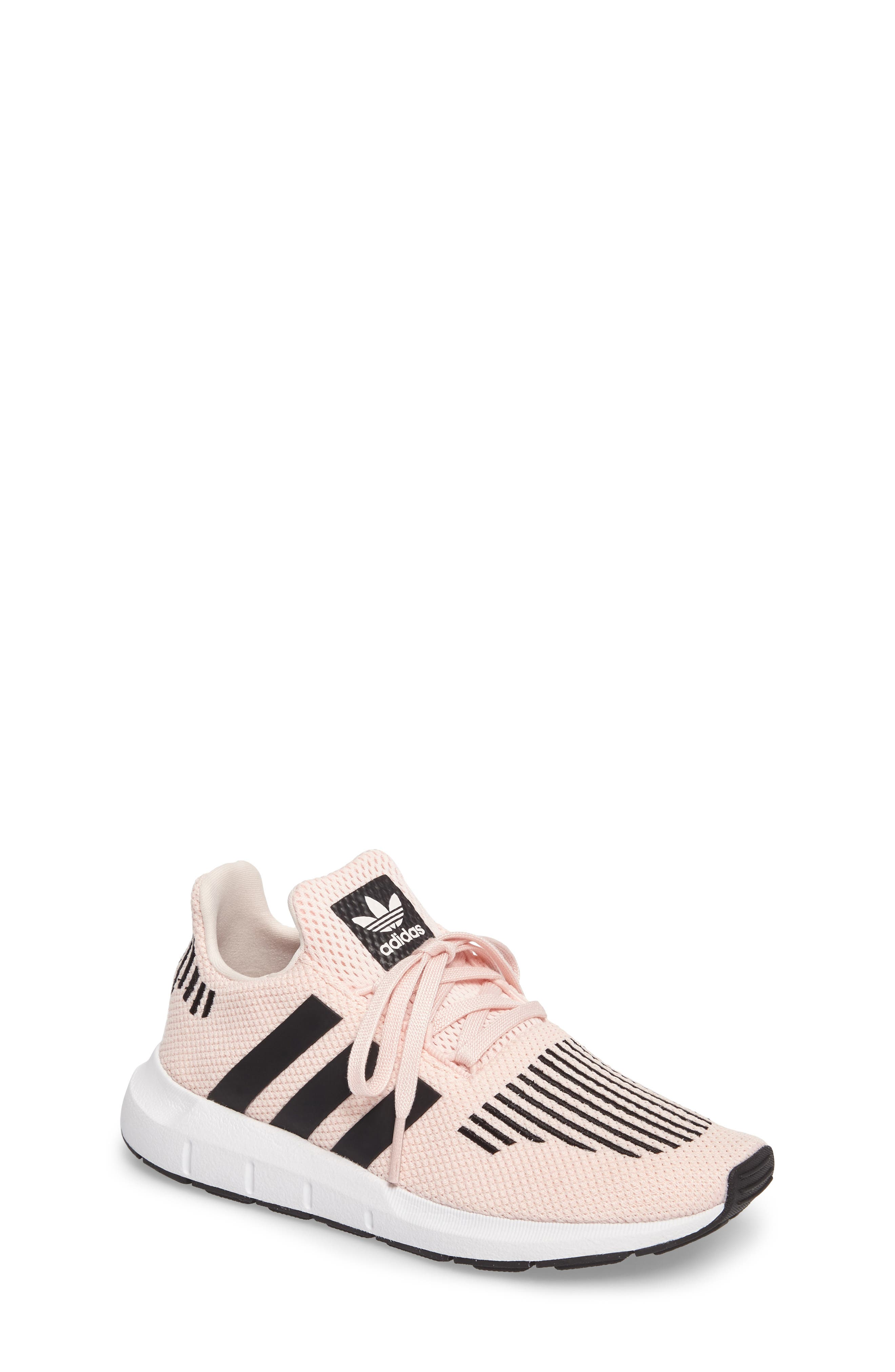 Swift Run C Sneaker,                         Main,                         color, Icey Pink/ Core Black