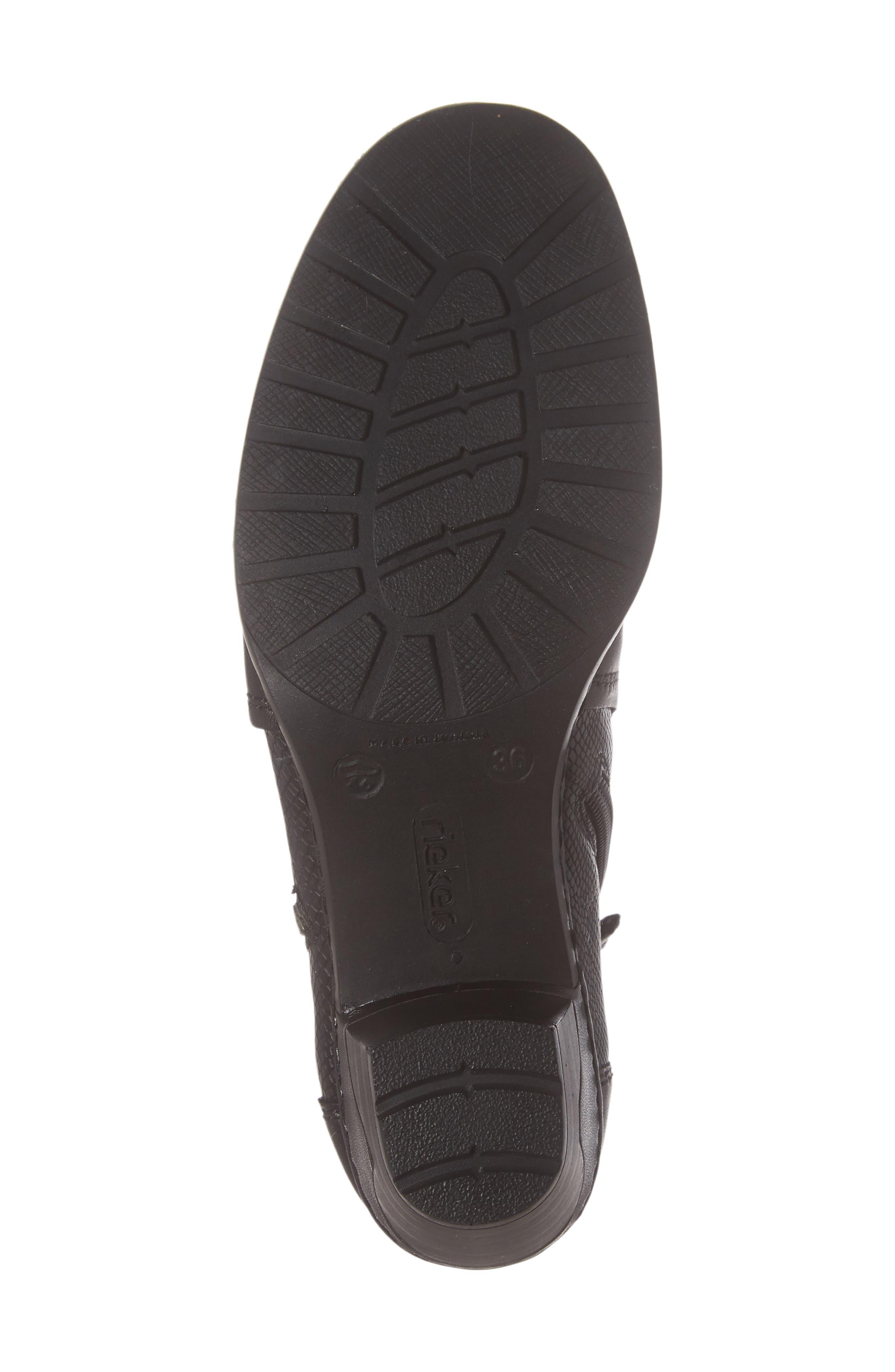 Lynn 62 Bootie,                             Alternate thumbnail 6, color,                             Schwarz Nero Leather