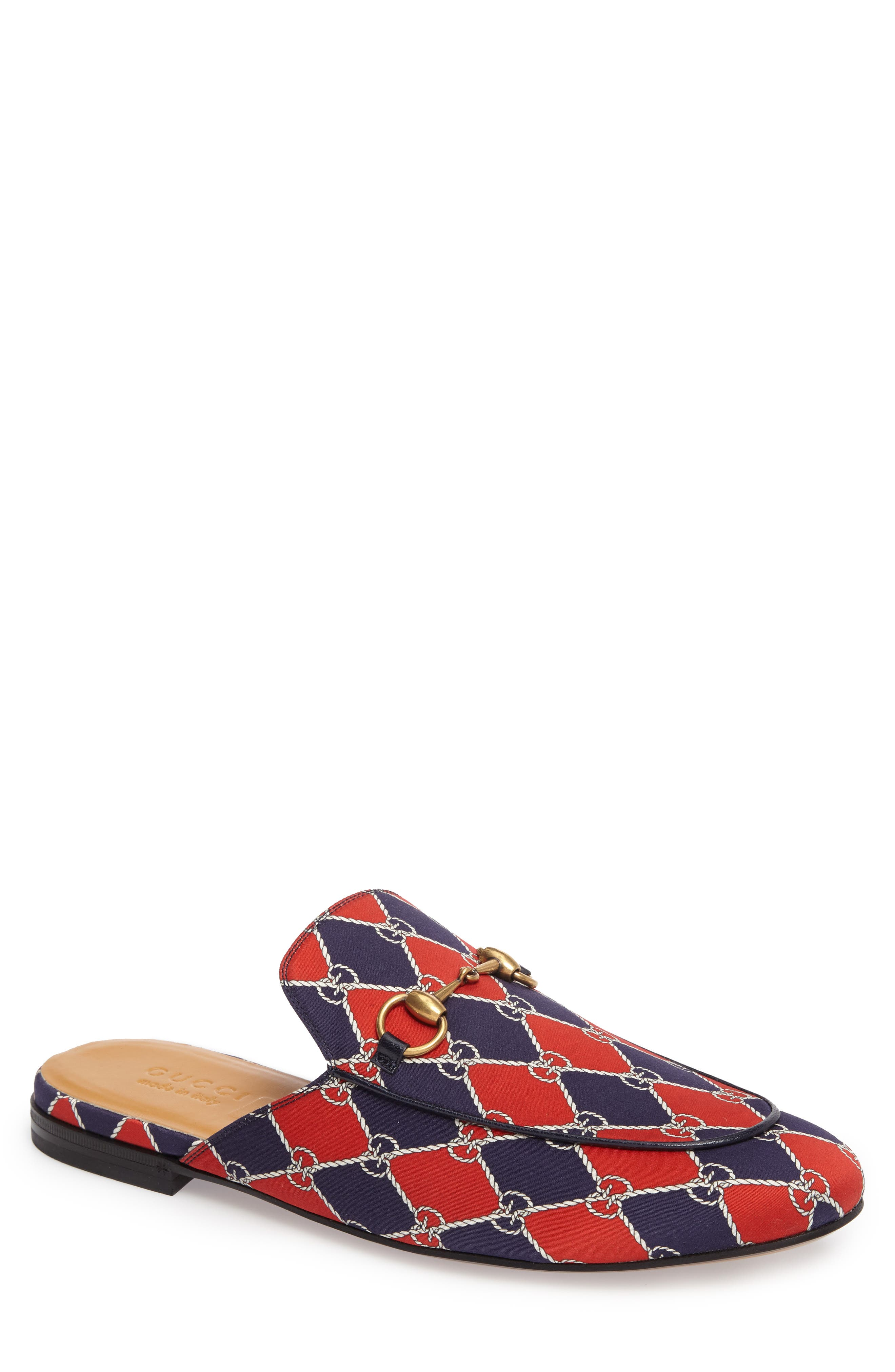 Alternate Image 1 Selected - Gucci King's Harlequin Bit Loafer (Men)