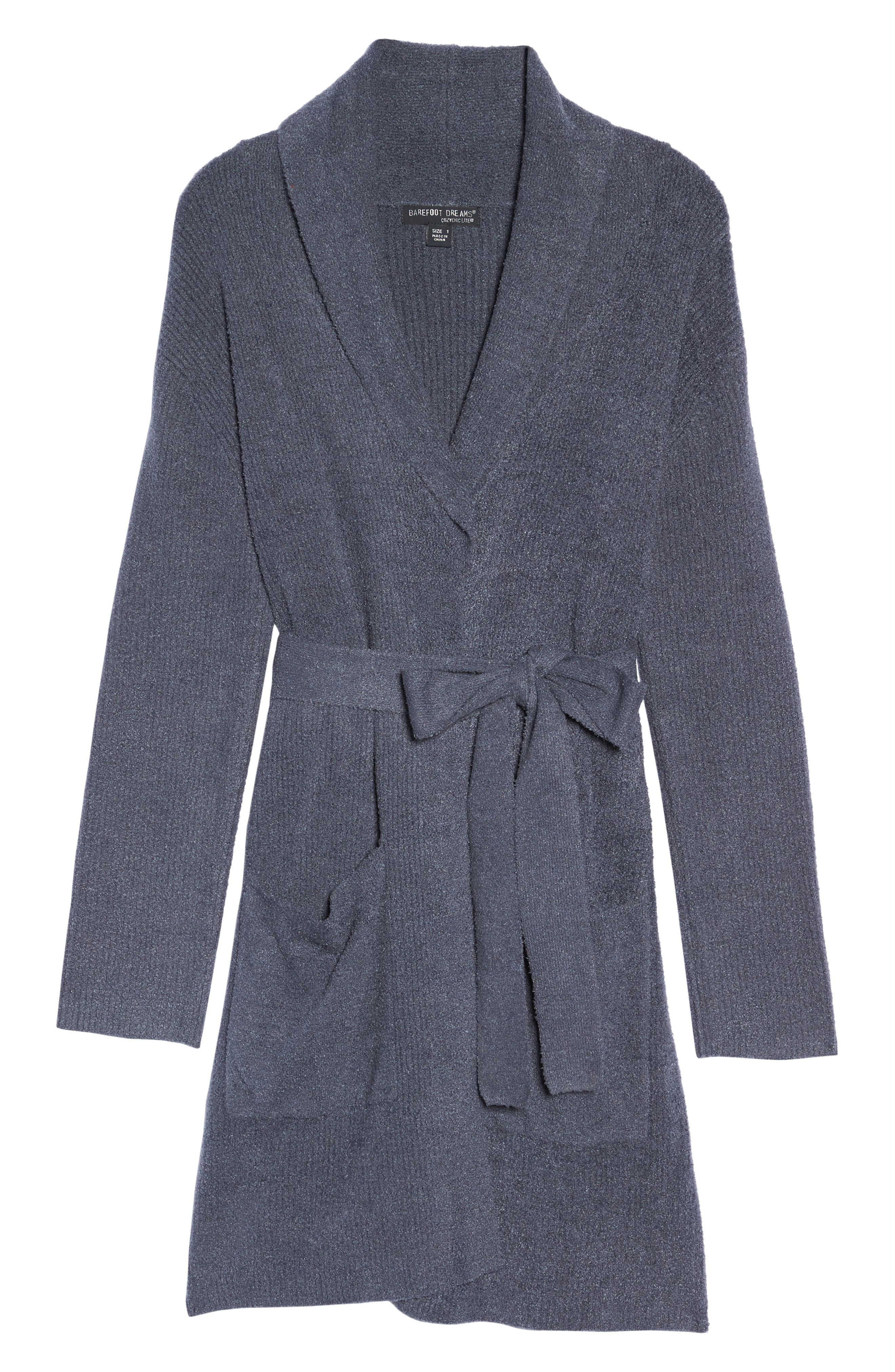 Alternate Image 4  - Barefoot Dreams CozyChic Lite® Short Robe