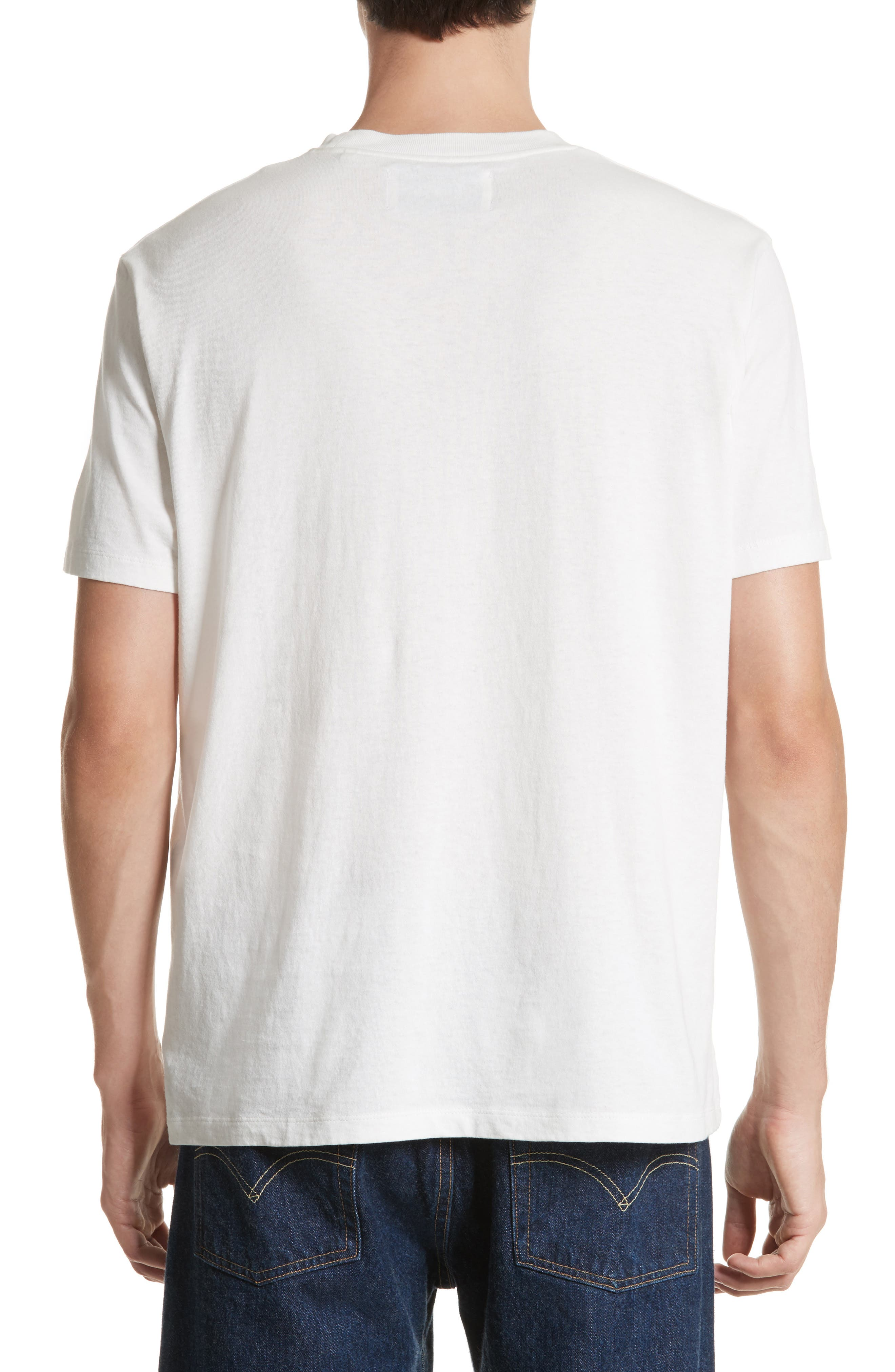 Bored Is All We Are Graphic T-Shirt,                             Alternate thumbnail 2, color,                             White