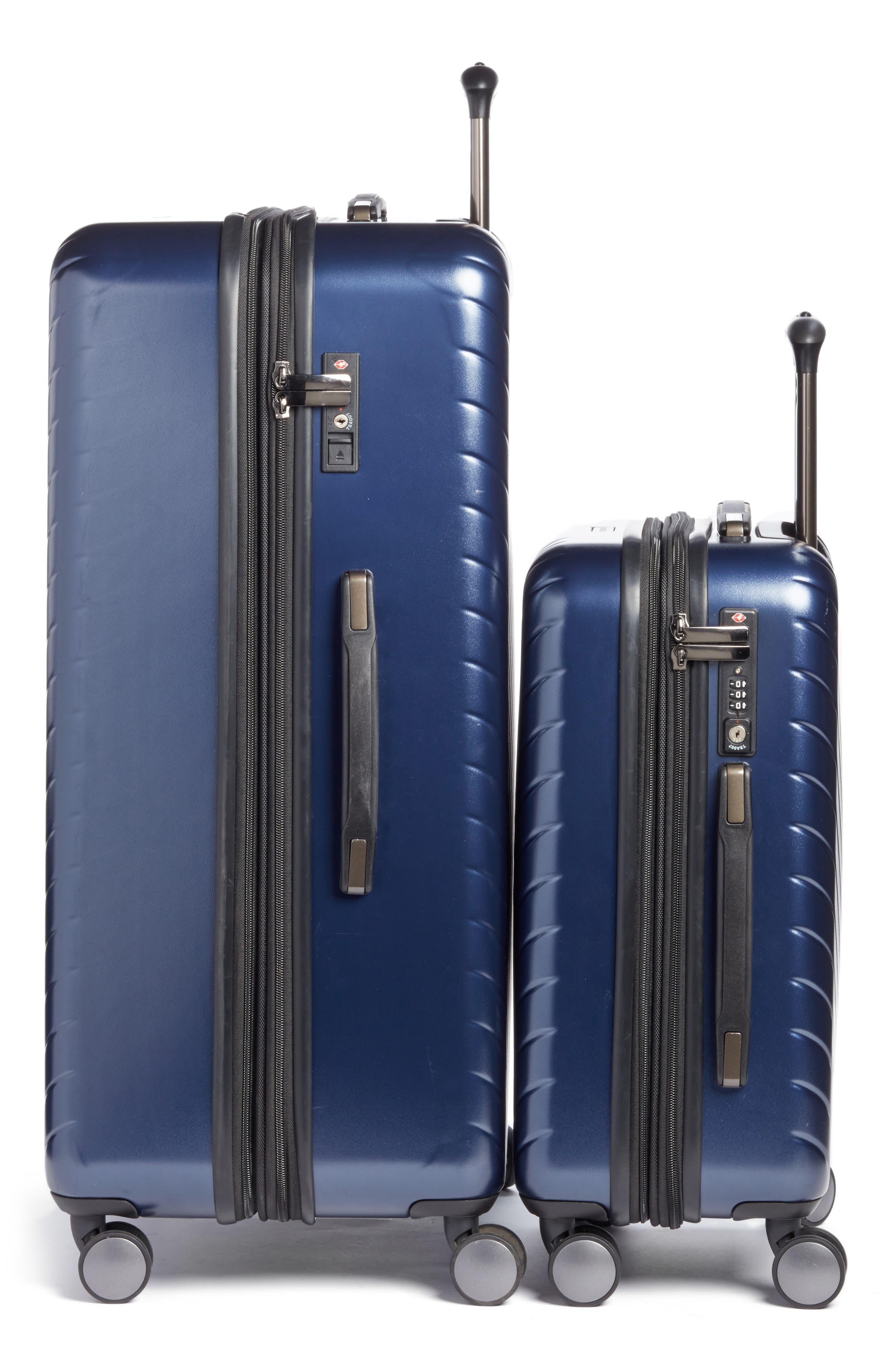Alternate Image 4  - Nordstrom Chevron 29-Inch & 20-Inch Spinner Luggage Set ($408 Value)