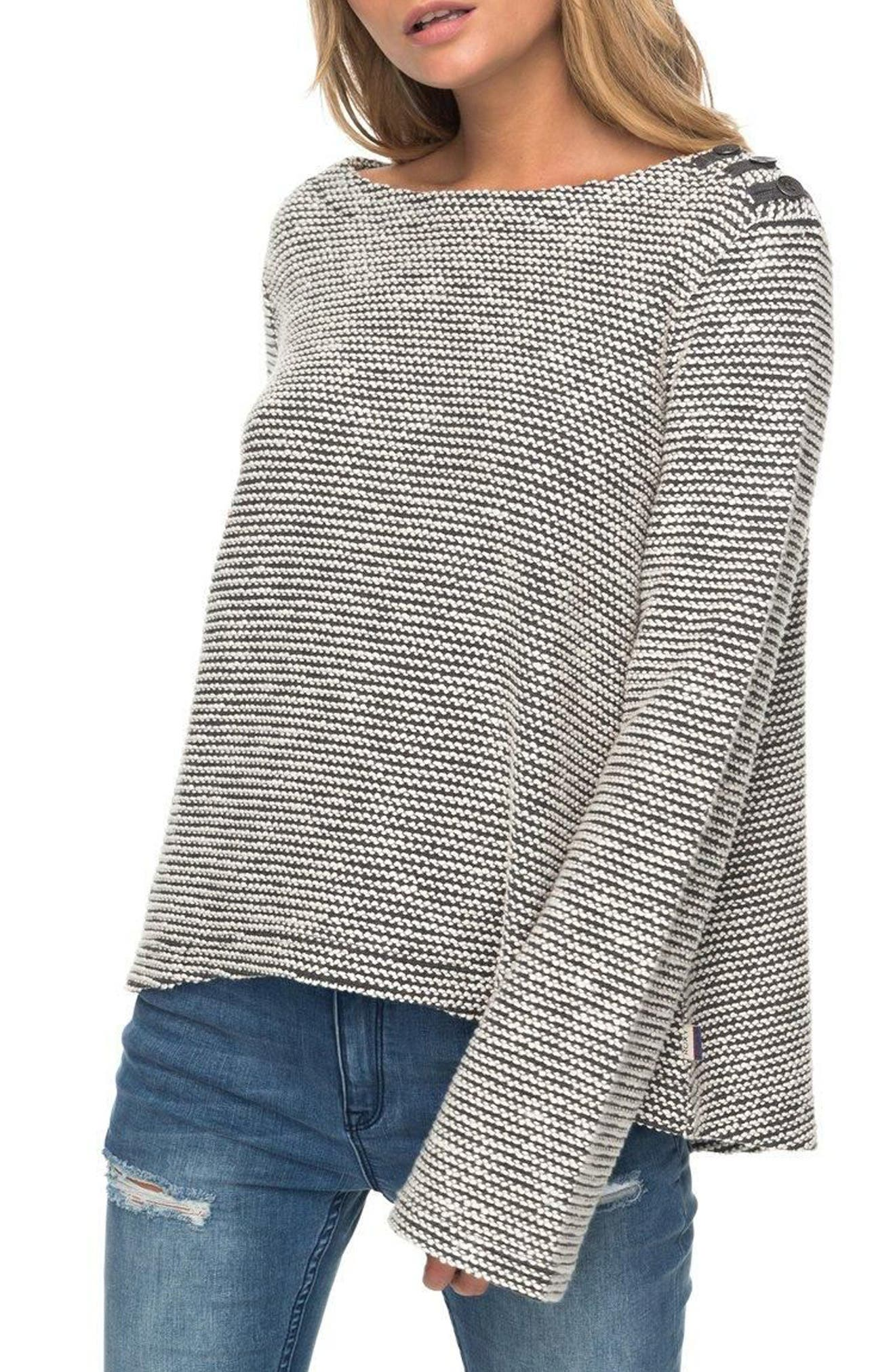 Free Thinking Sweatshirt,                         Main,                         color, Charcoal Heather