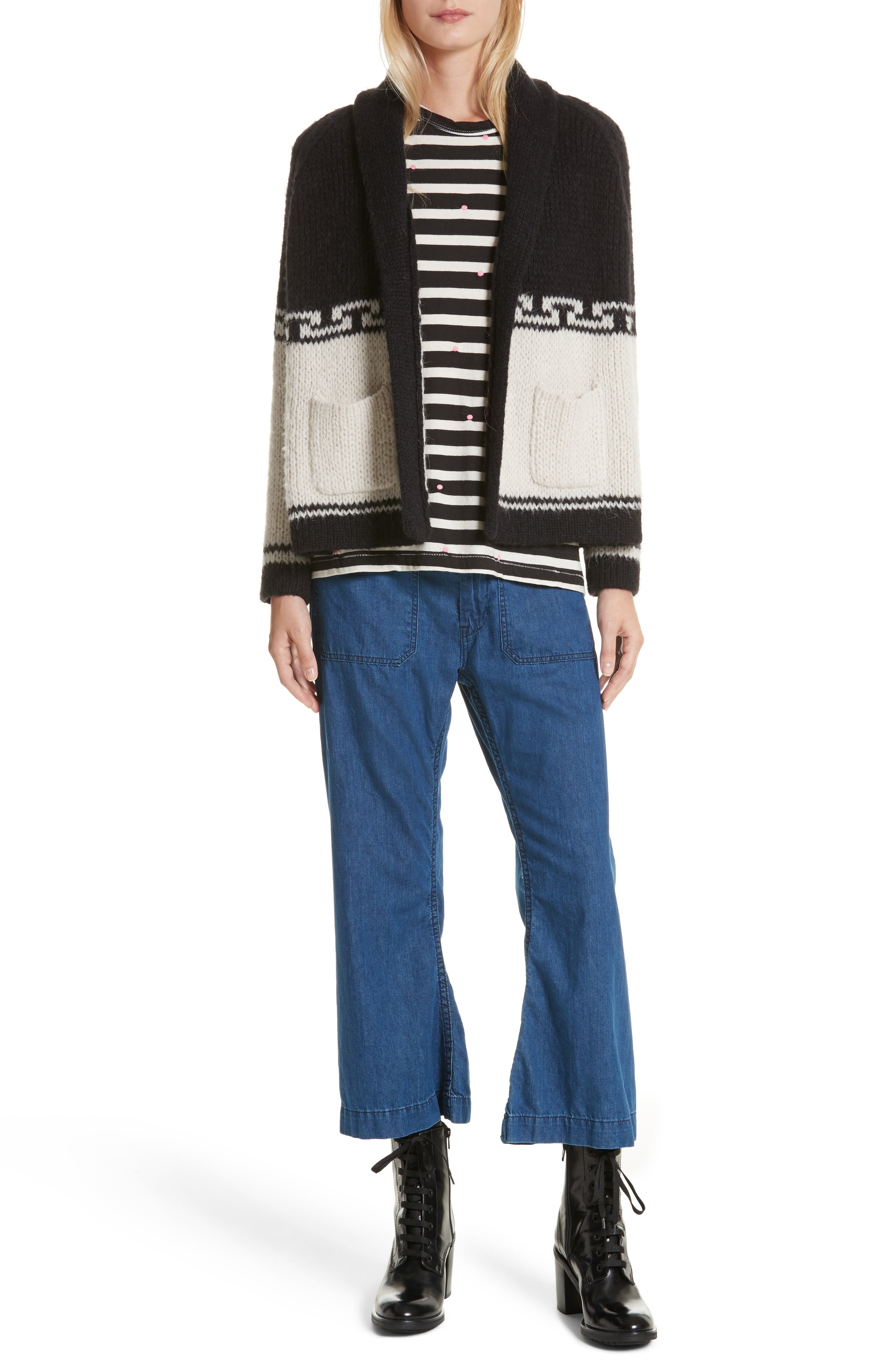 Alternate Image 2  - THE GREAT. The Lodge Cardigan