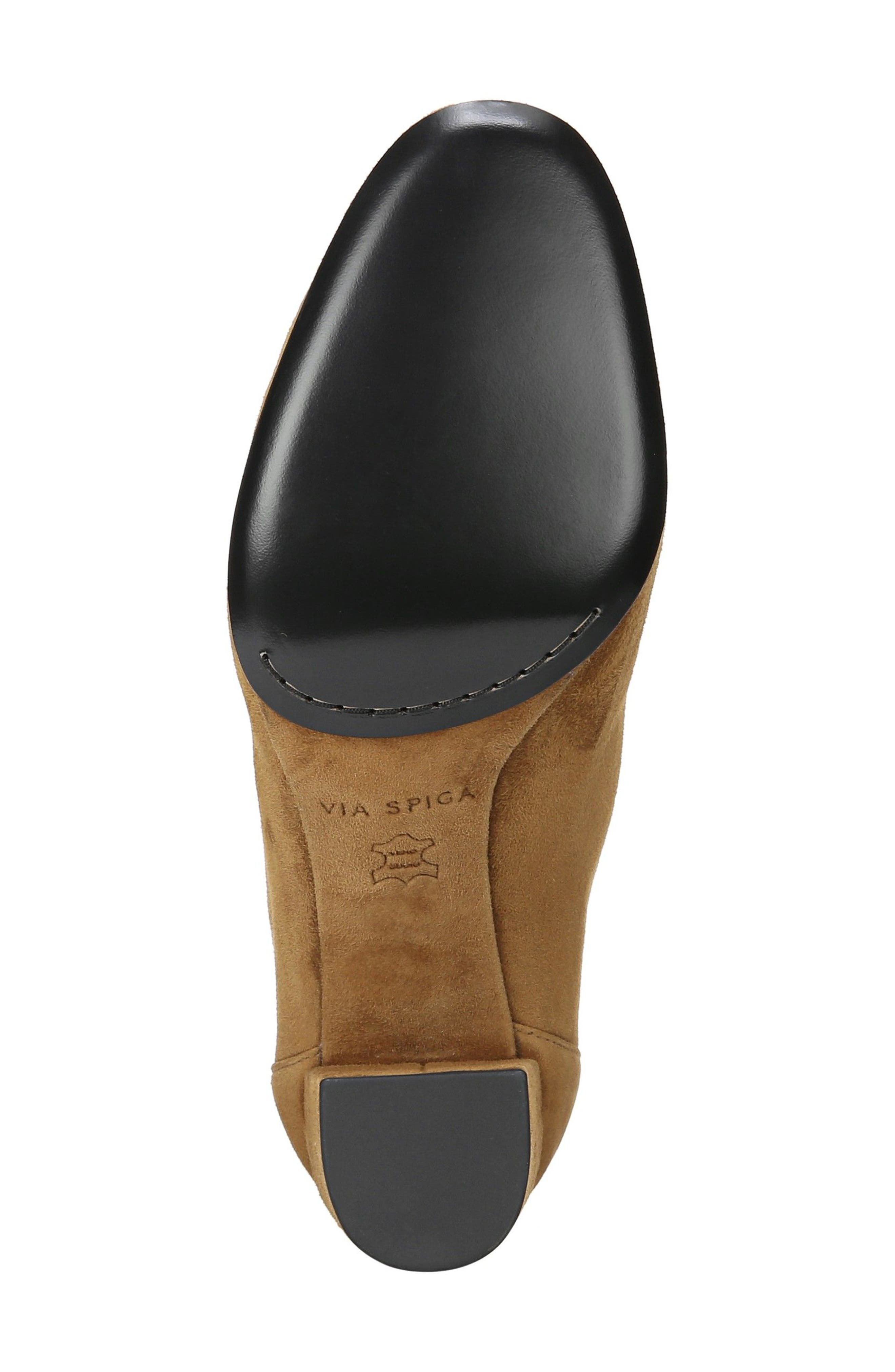 Nadia Bootie,                             Alternate thumbnail 7, color,                             Cuoio Suede