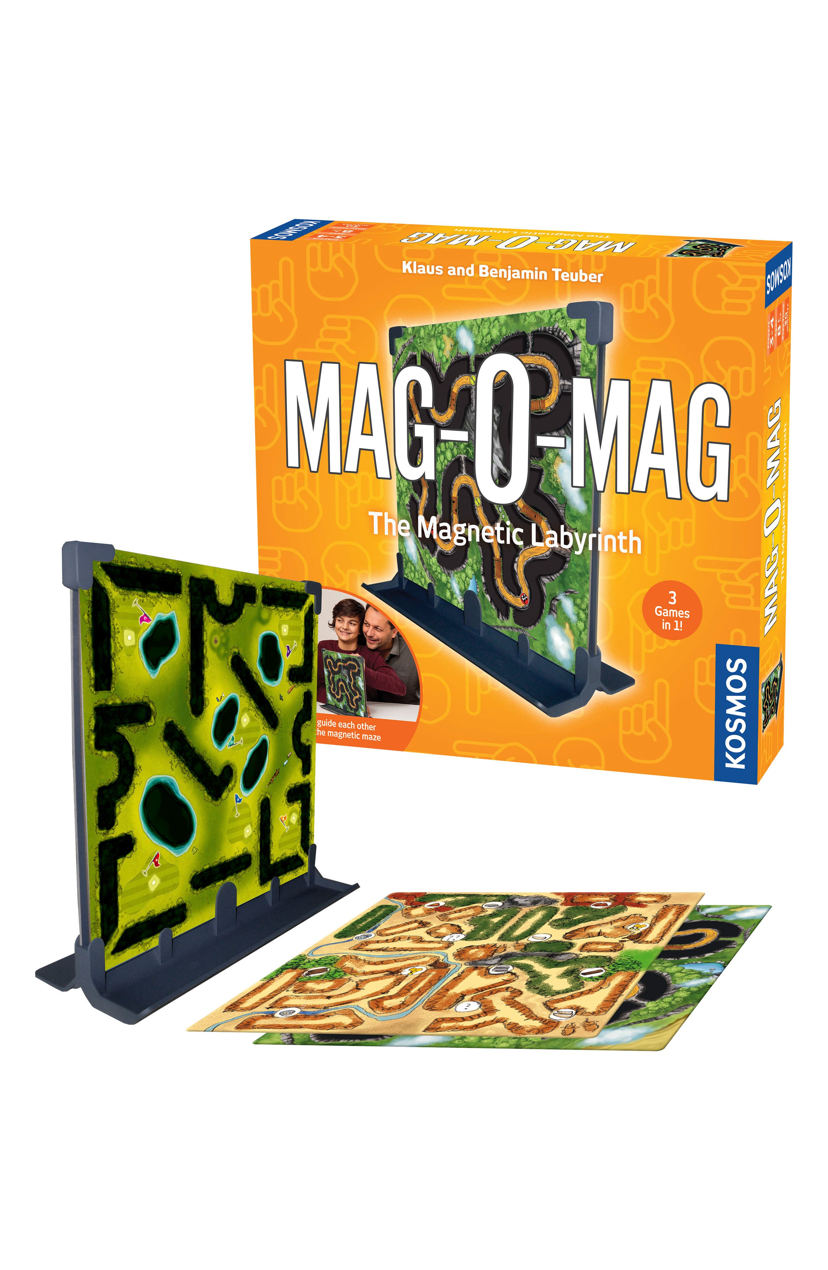 Mag-O-Mag Magnetic Labyrinth Game,                             Alternate thumbnail 2, color,                             Multi
