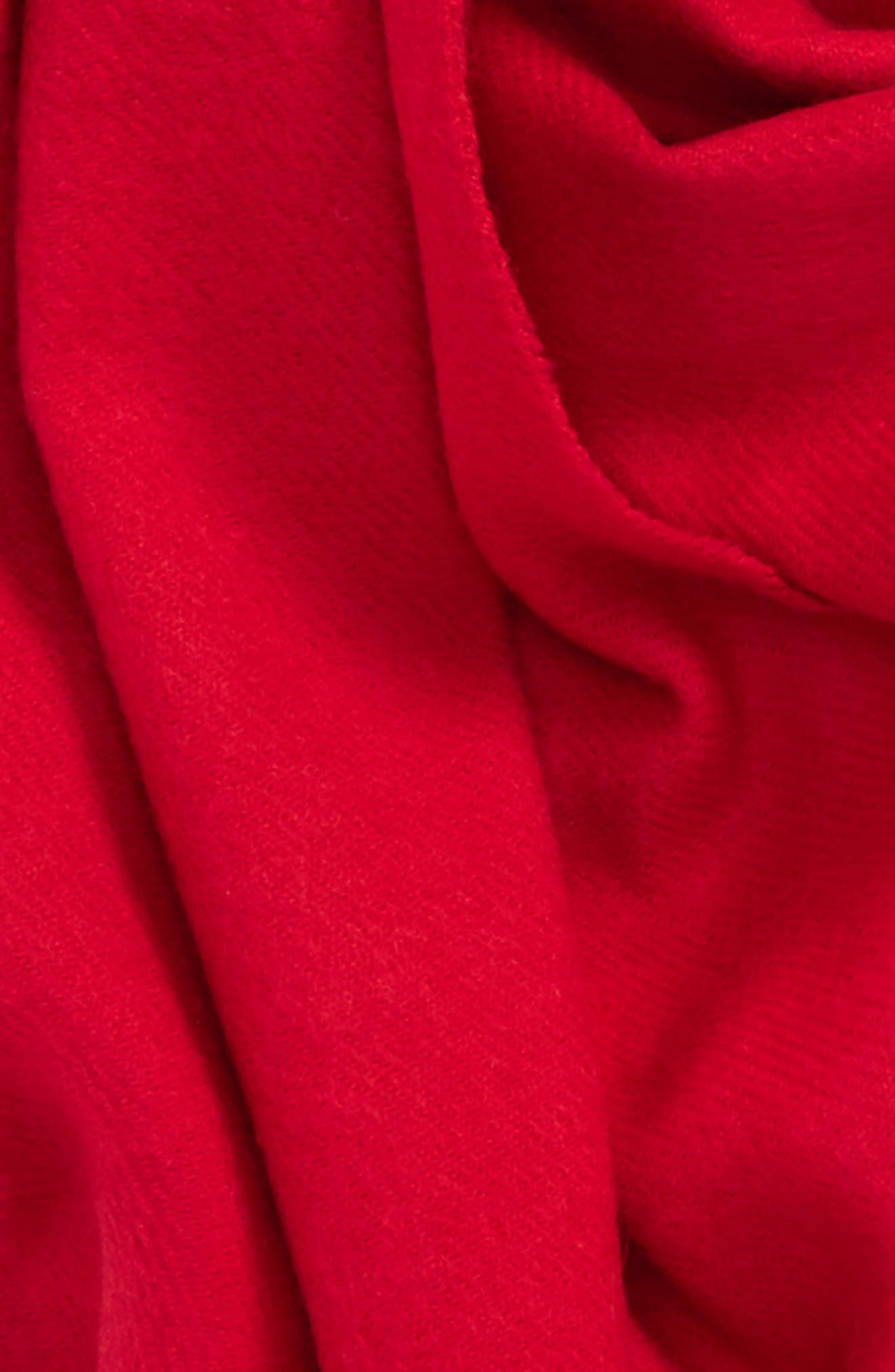 Fargo Scarf,                             Alternate thumbnail 3, color,                             Red
